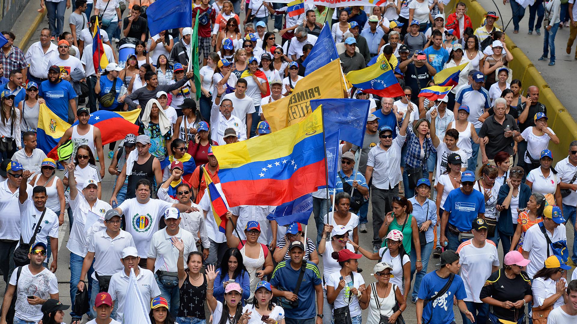 Libertad de expresión: si hay algo que caracteriza al chavismo es el acoso a los medios de comunicación independientes. Este problema lo denunció en reiteradas ocasiones la Sociedad Interamericana de Prensa (SIP), entre otras organizaciones (AFP)