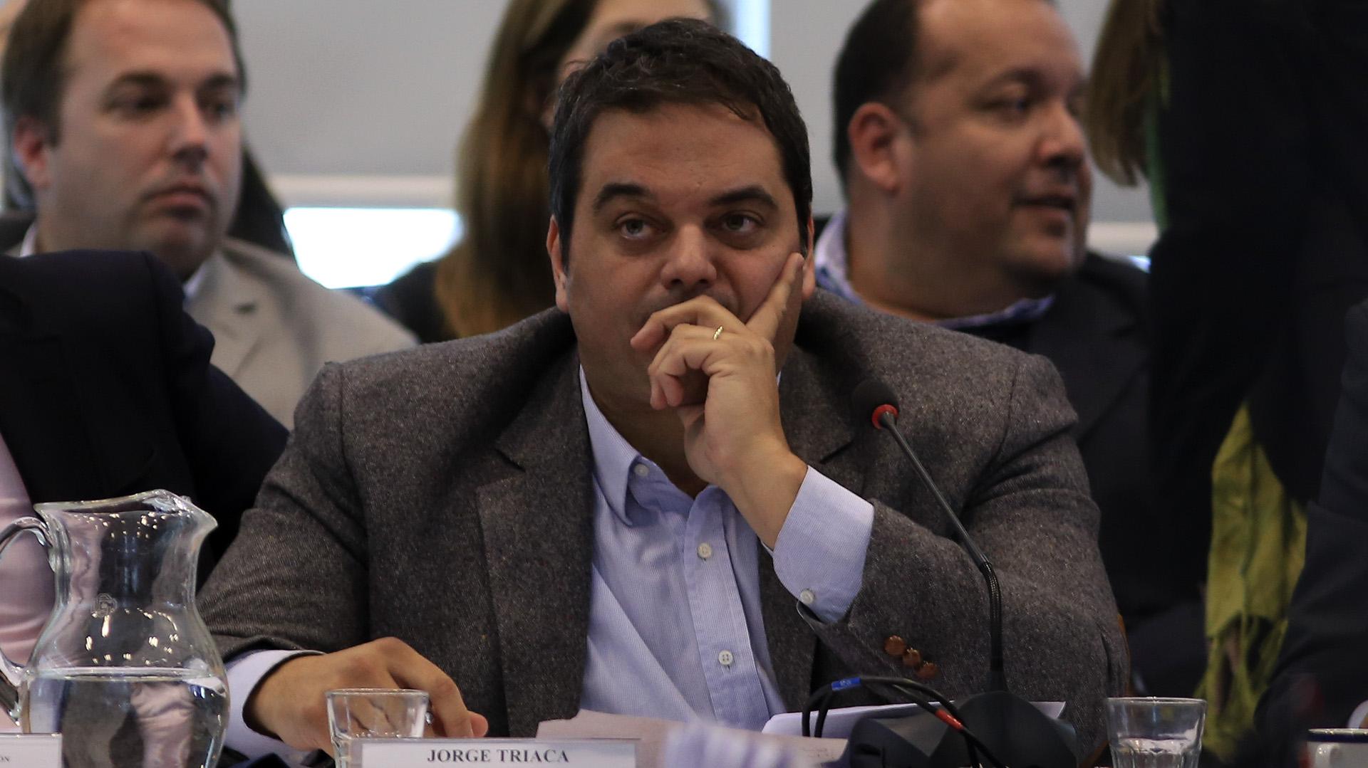 Jorge Triaca, ministro de Trabajo (foto de archivo – NA)