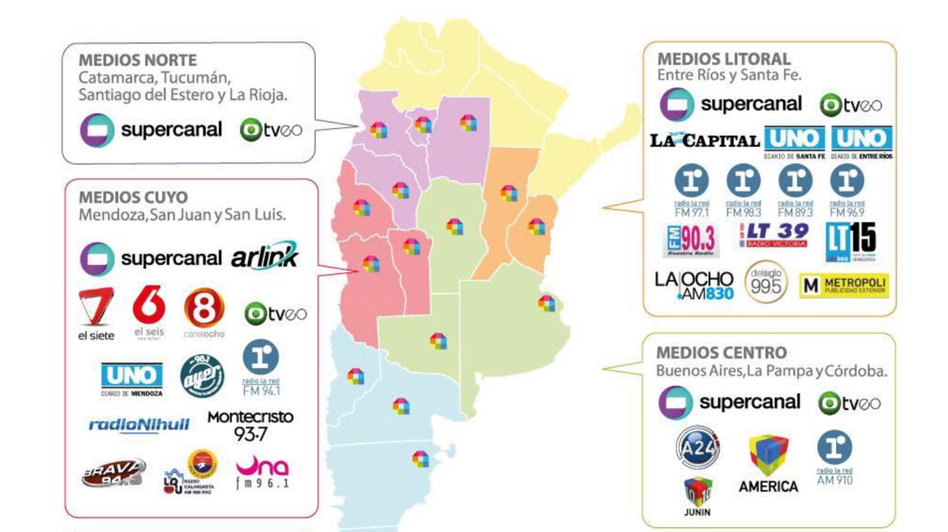 Grupo América, la nueva marca del holding de medios - Infobae