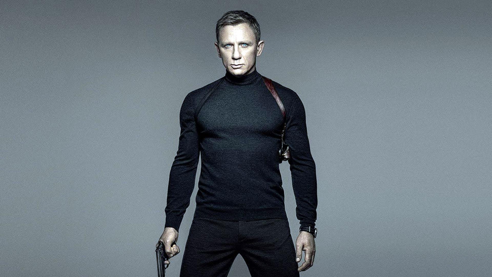 El inglés Daniel Craig estuvo en las últimas cuatro películas de James Bond