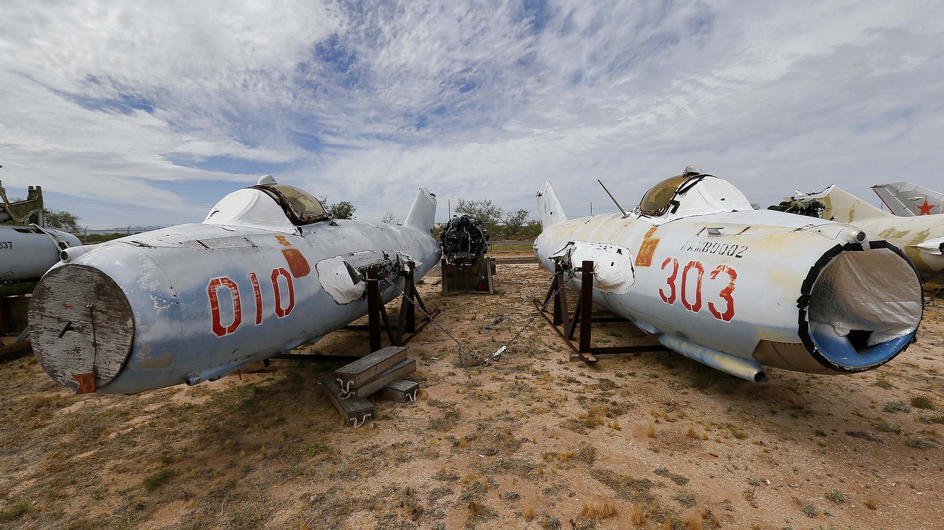 Cementerio de aviones: donde mueren los gigantes