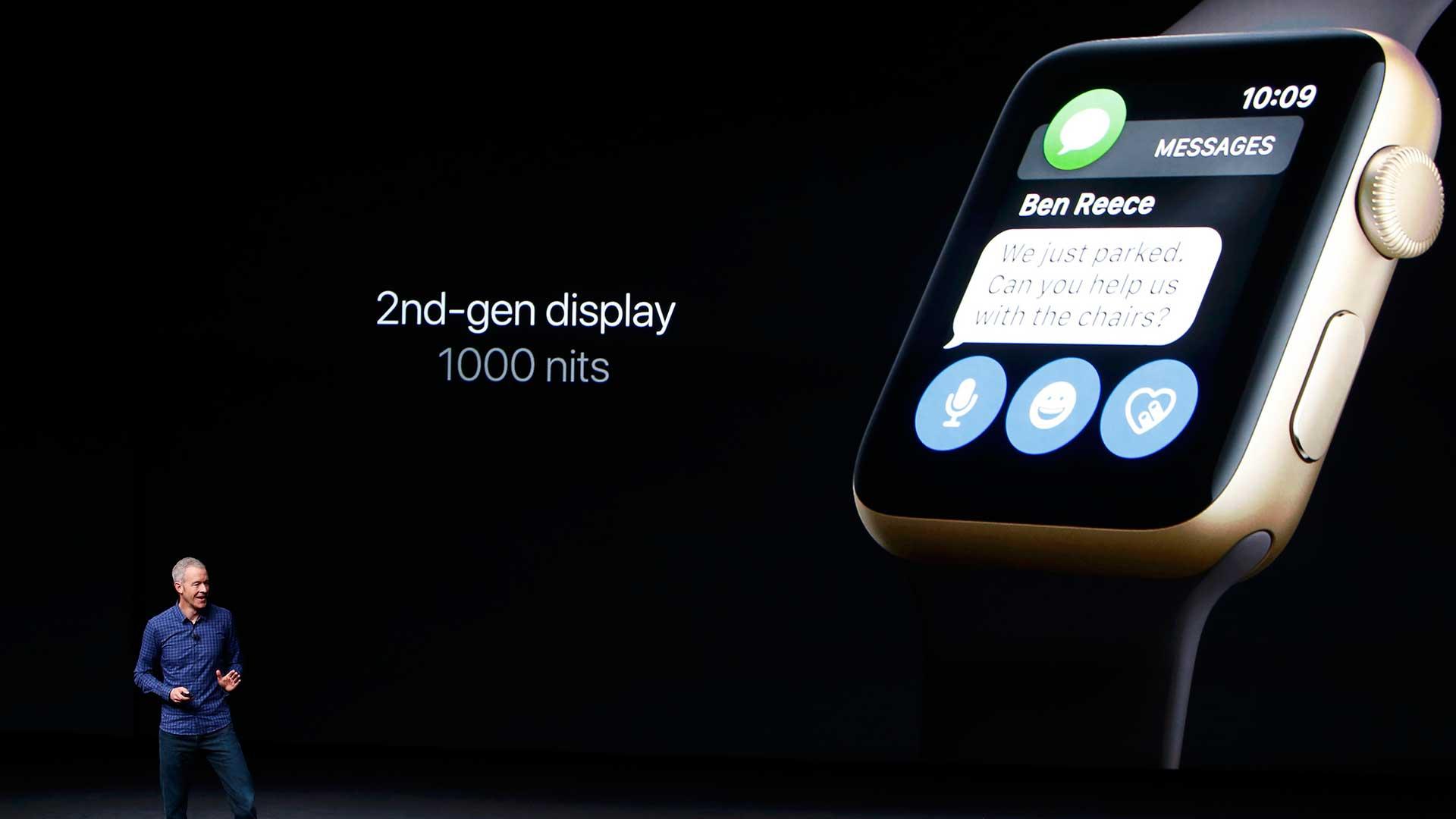 El nuevo smartwatch tiene una pantalla que es dos veces más brillante que la de su antecesor (Reuters).