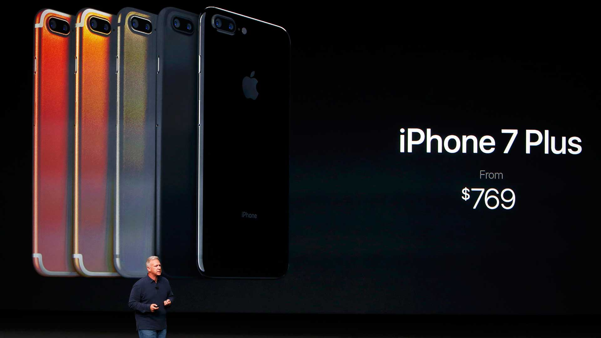 El iPhone 7 plus se venderá, liberado, a 769 dólares (Reuters).