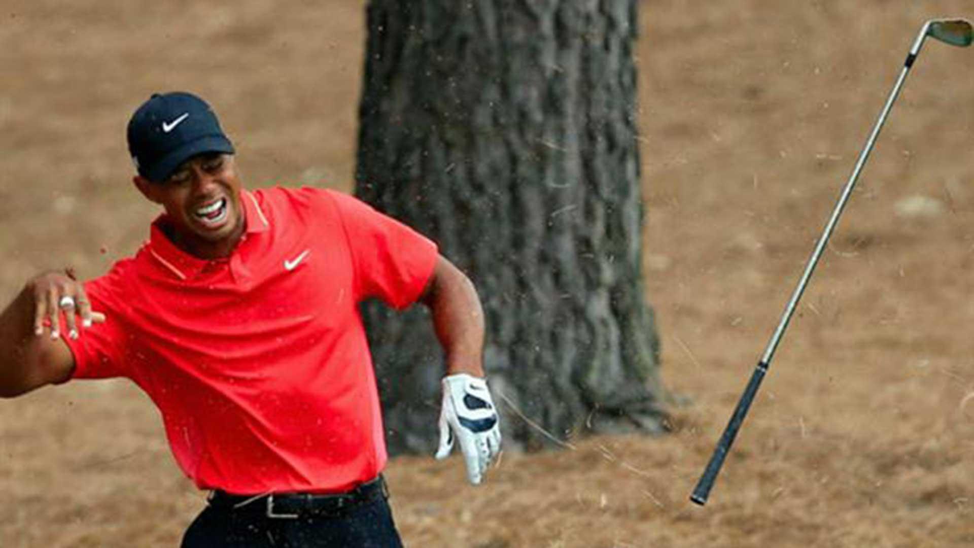 Por sus dolores de espalda, Woods fue intervenido quirúrgicamente en dos oportunidades (AP)