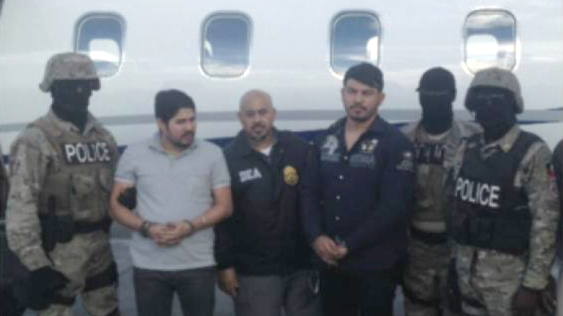 Efraín Antonio Campo Flores y Franqui Francisco Flores de Freitas fueron arrestados en Haití en 2015 mientras intentaban traficar 800 kilos de cocaína