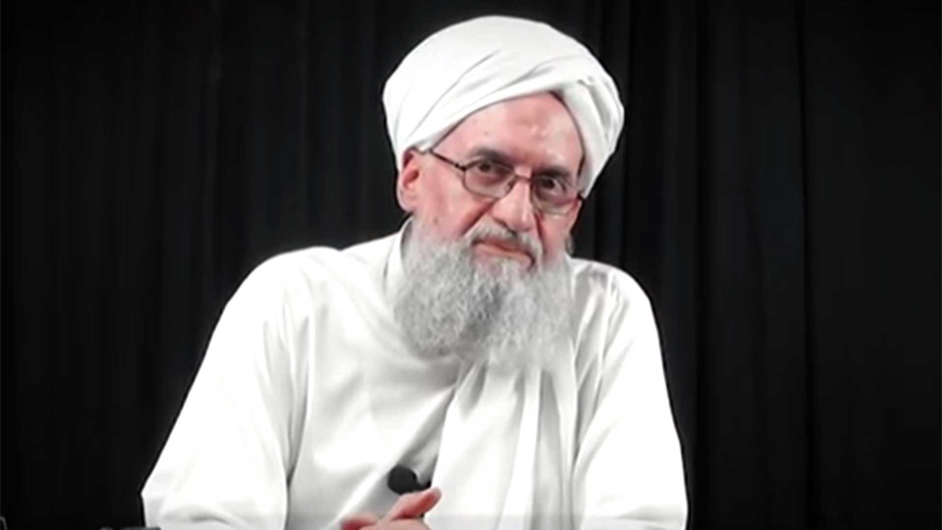 El jefe de Al Qaeda Ayman al-Zawahiri