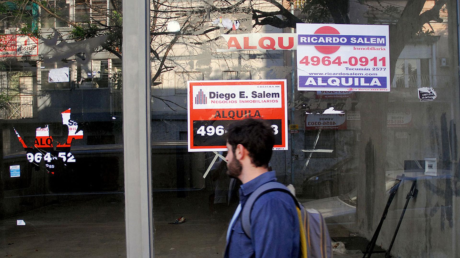 La Cámara de Comercio detectó 162 locales inactivos en la Ciudad (Nicolás Stulberg)