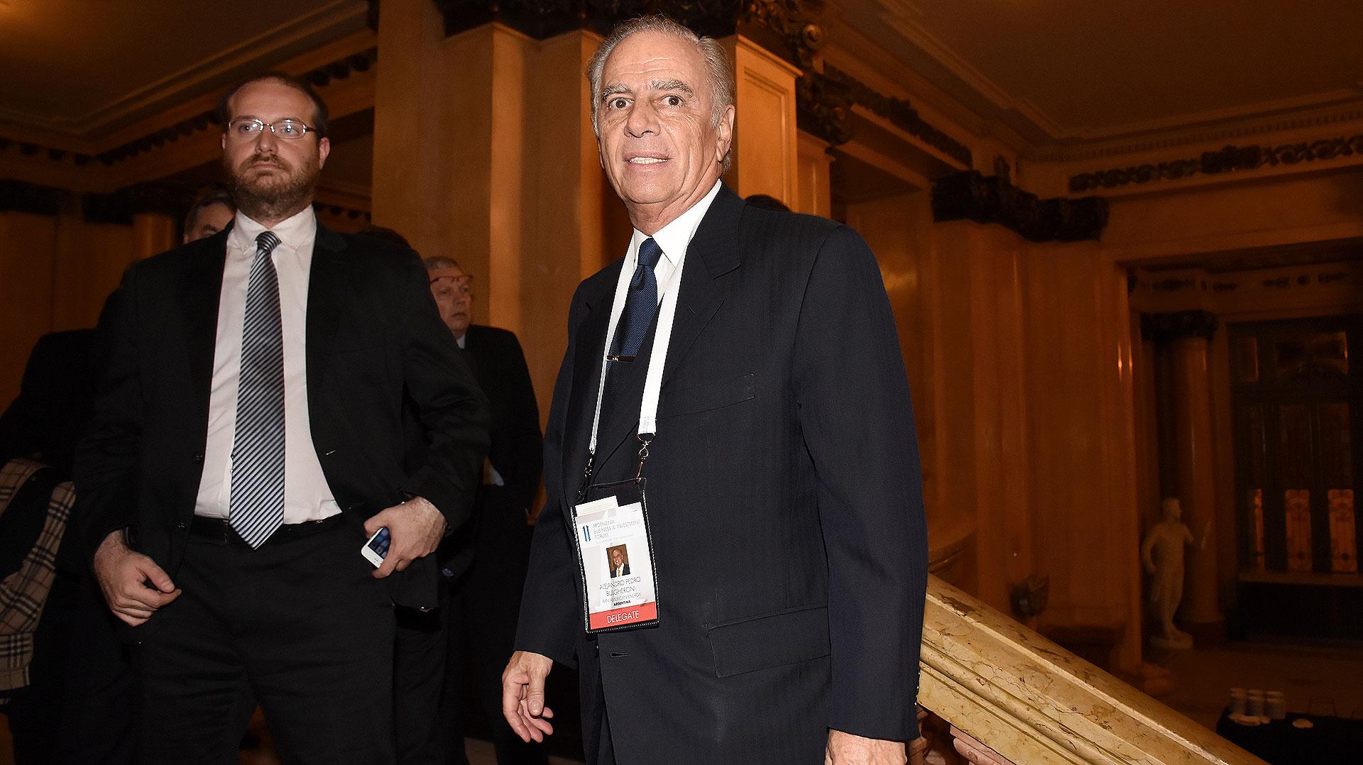 El empresario Alejandro Bulgheroni