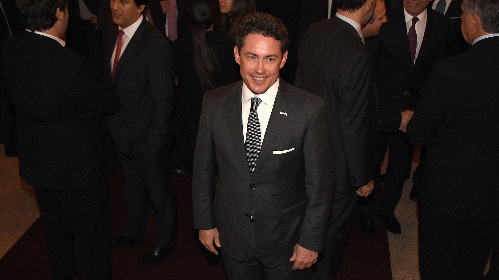 Noah Mamet, embajador de los EEUU en Argentina