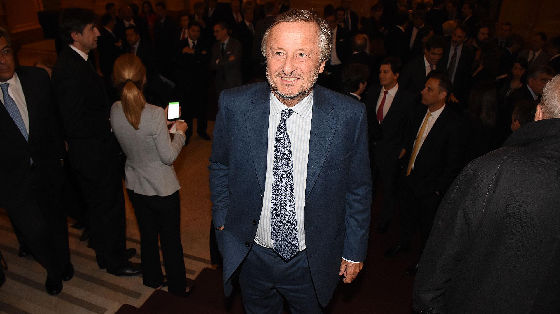 Cristiano Rattazzi, presidente de Fiat Chrysler