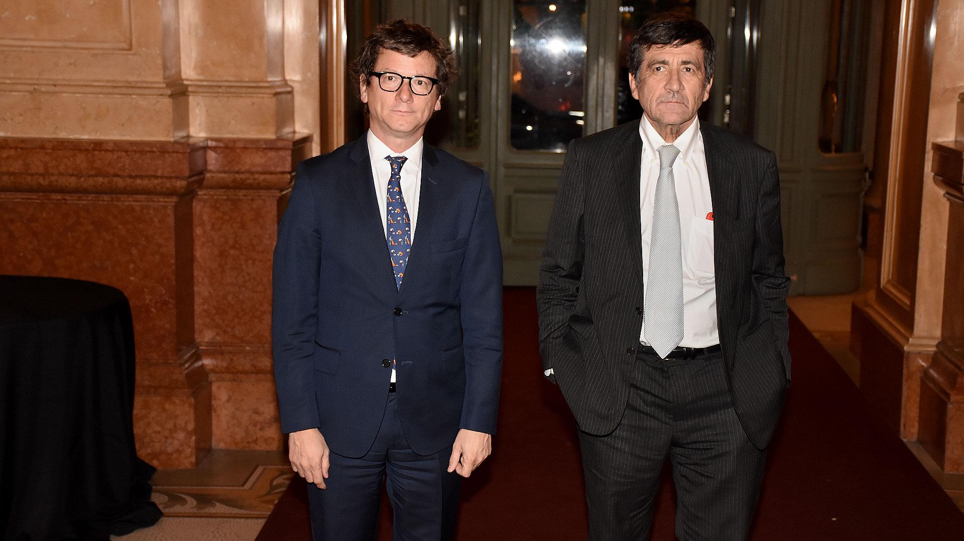 Marcos Gastaldi y Gabriel Martino, CEO HSBC Argentina