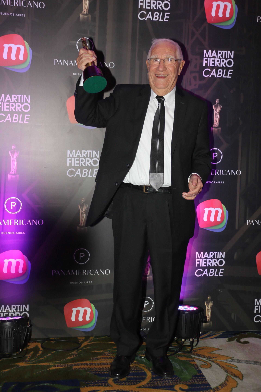 Enrique Macaya Márquez ganó por su Labor Periodística Deportiva (Verónica Guerman / Teleshow)