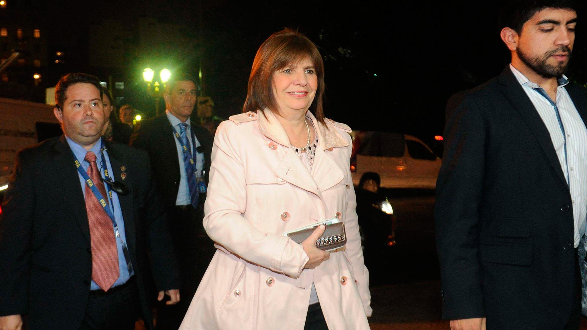 La ministra Patricia Bullrich en el foro