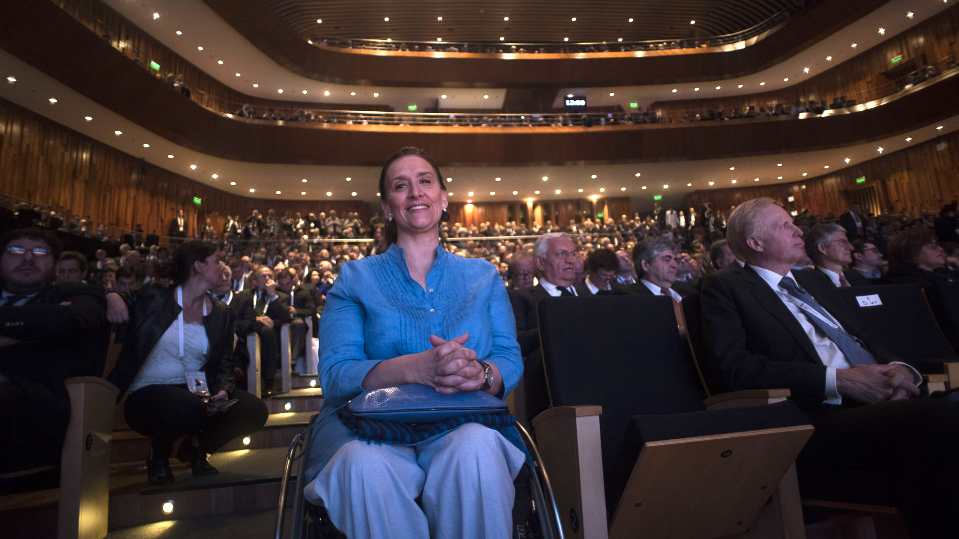 La vicepresidente Gabriela Michetti