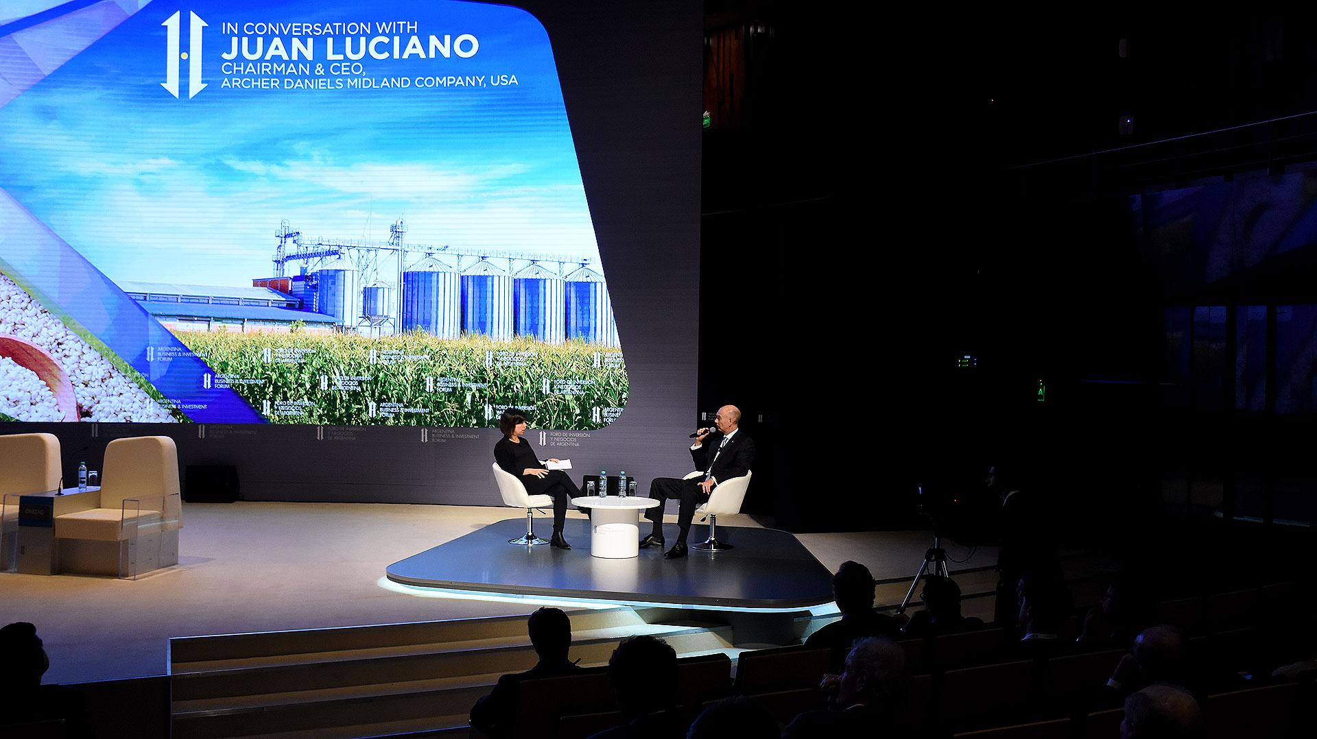 Juan Luciano, CEO de Archer Daniels Midland