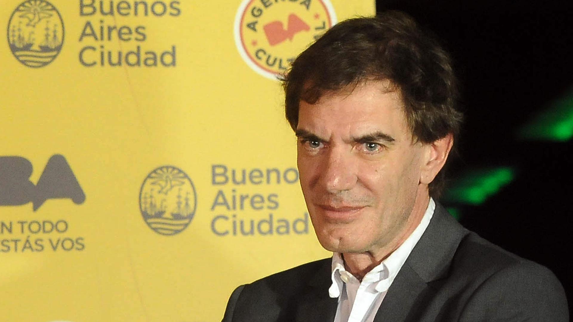 Darío Lopérfido ocupó tres cargos para Cambiemos: director del Teatro Colón, ministro de Cultura y agregado cultural en Alemania (Télam)