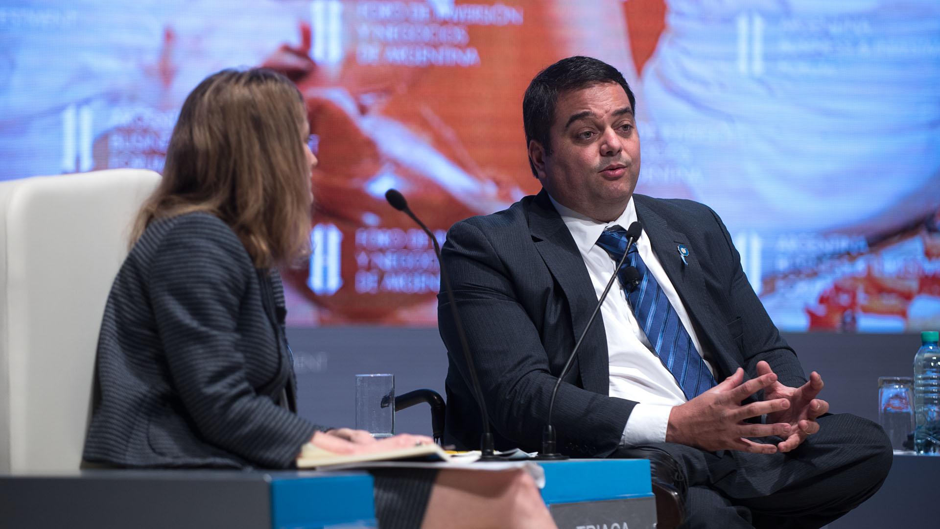 El ministro de Trabajo Jorge Triaca habló en el Foro de Inversión y Negocios y analizó la dinámica laboral en el país