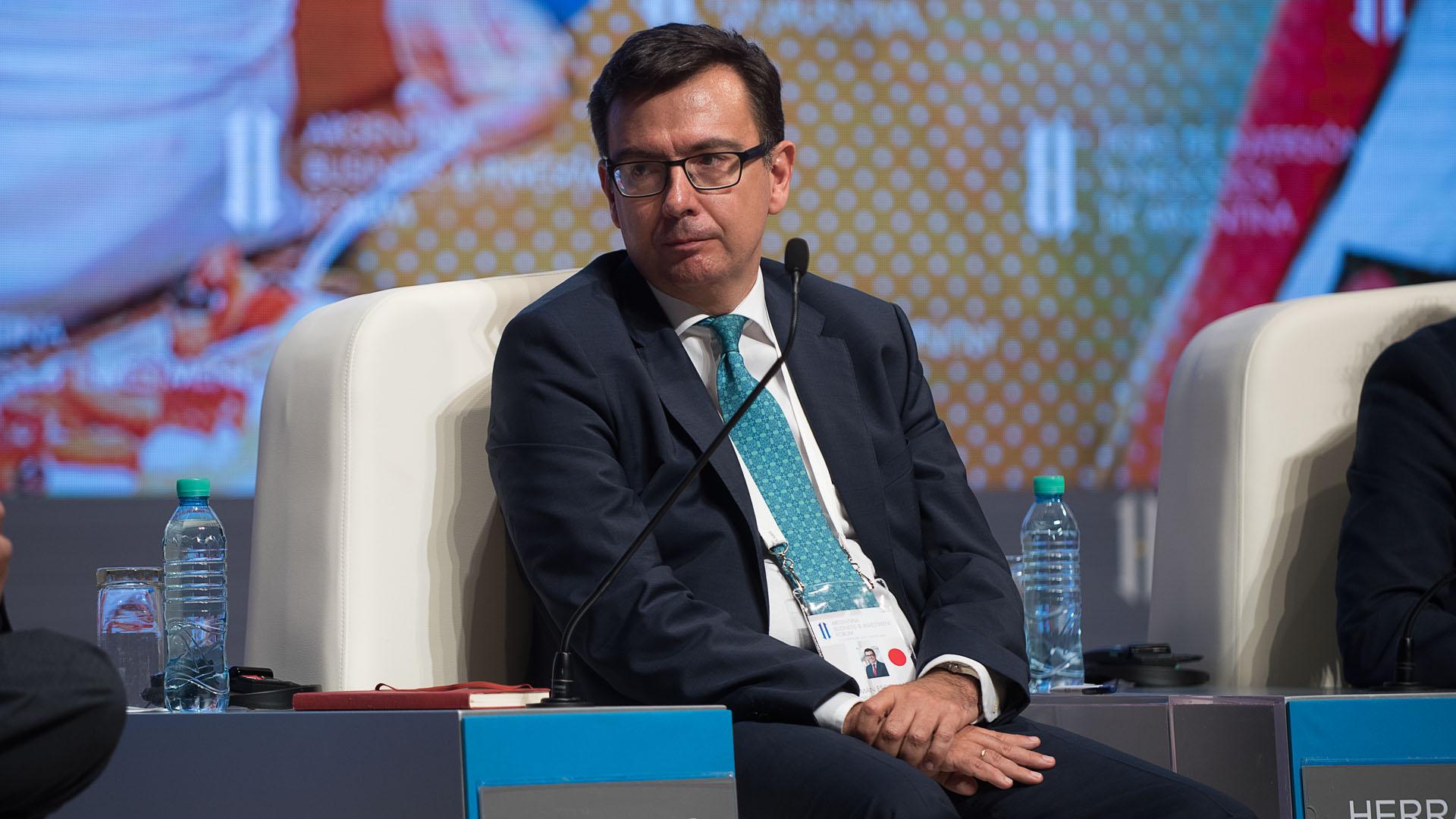 Román Escolano, vicepresidente del Banco Europeo de Inversiones