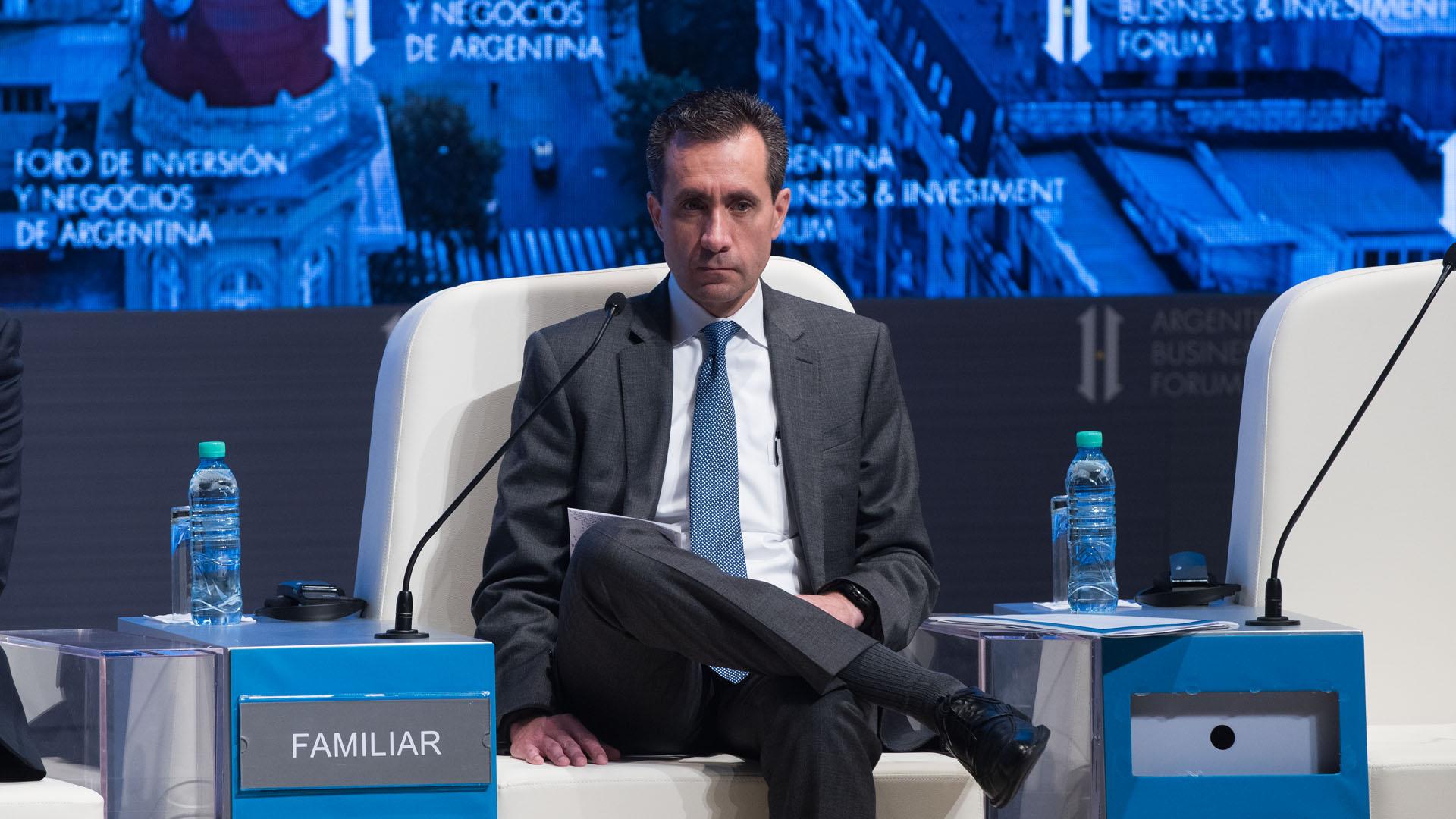 El vicepresidente del Banco Mundial para Latinoamérica, Jorge Familiar (Adrián Escandar)
