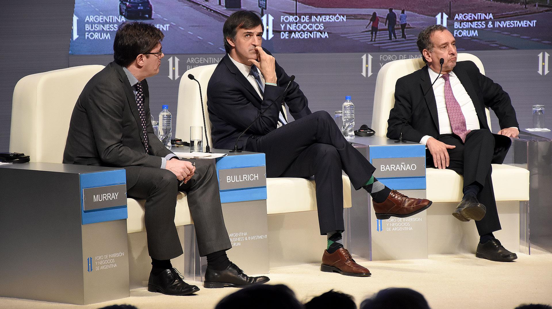 El ministro de Educación y Deportes, Esteban Bullrich, y el ministro de Ciencia, Tecnología e Innovación Productiva, Lino Barañao