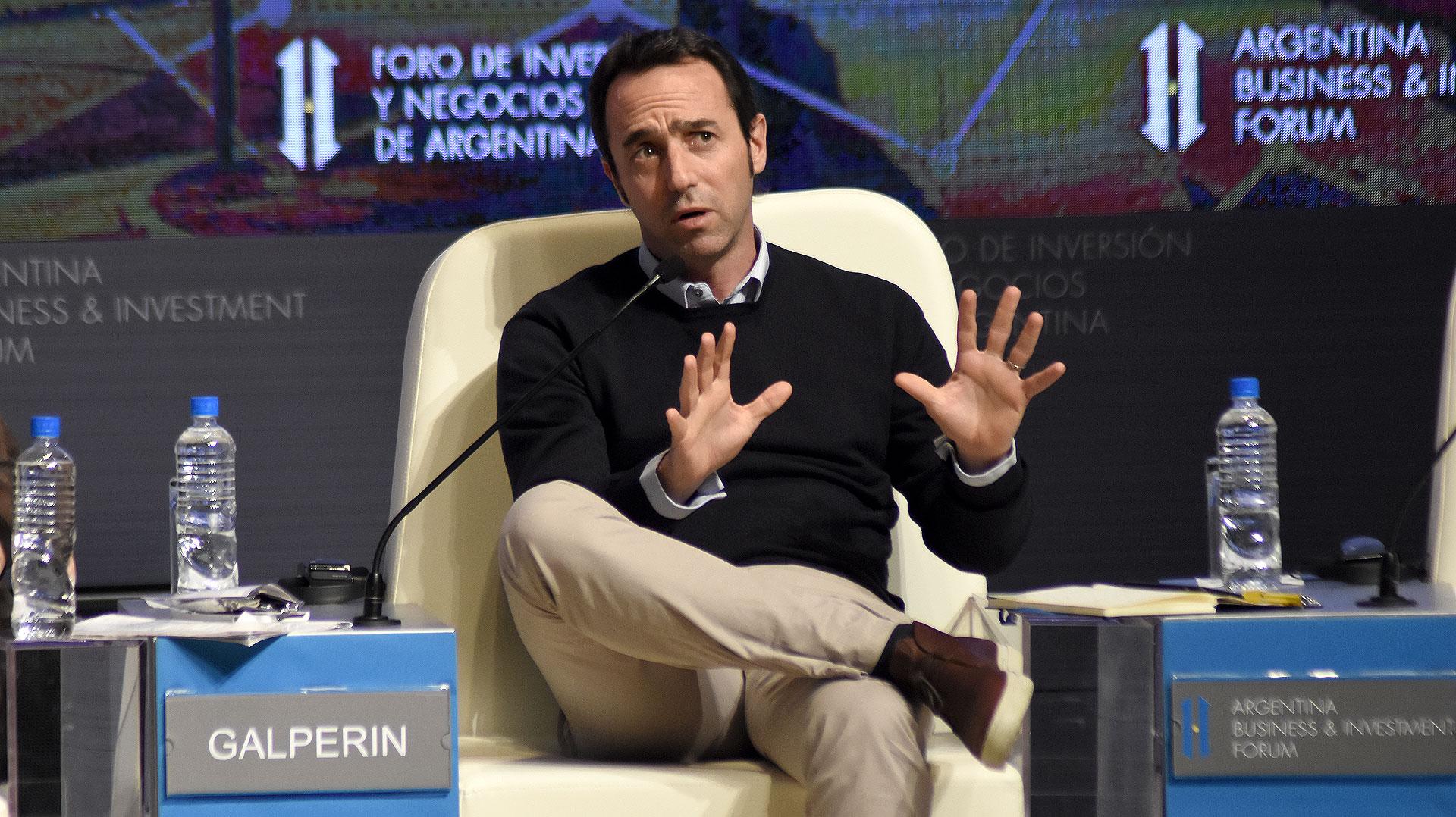 Marcos Galperin, Fundador y Presidente de MercadoLibre