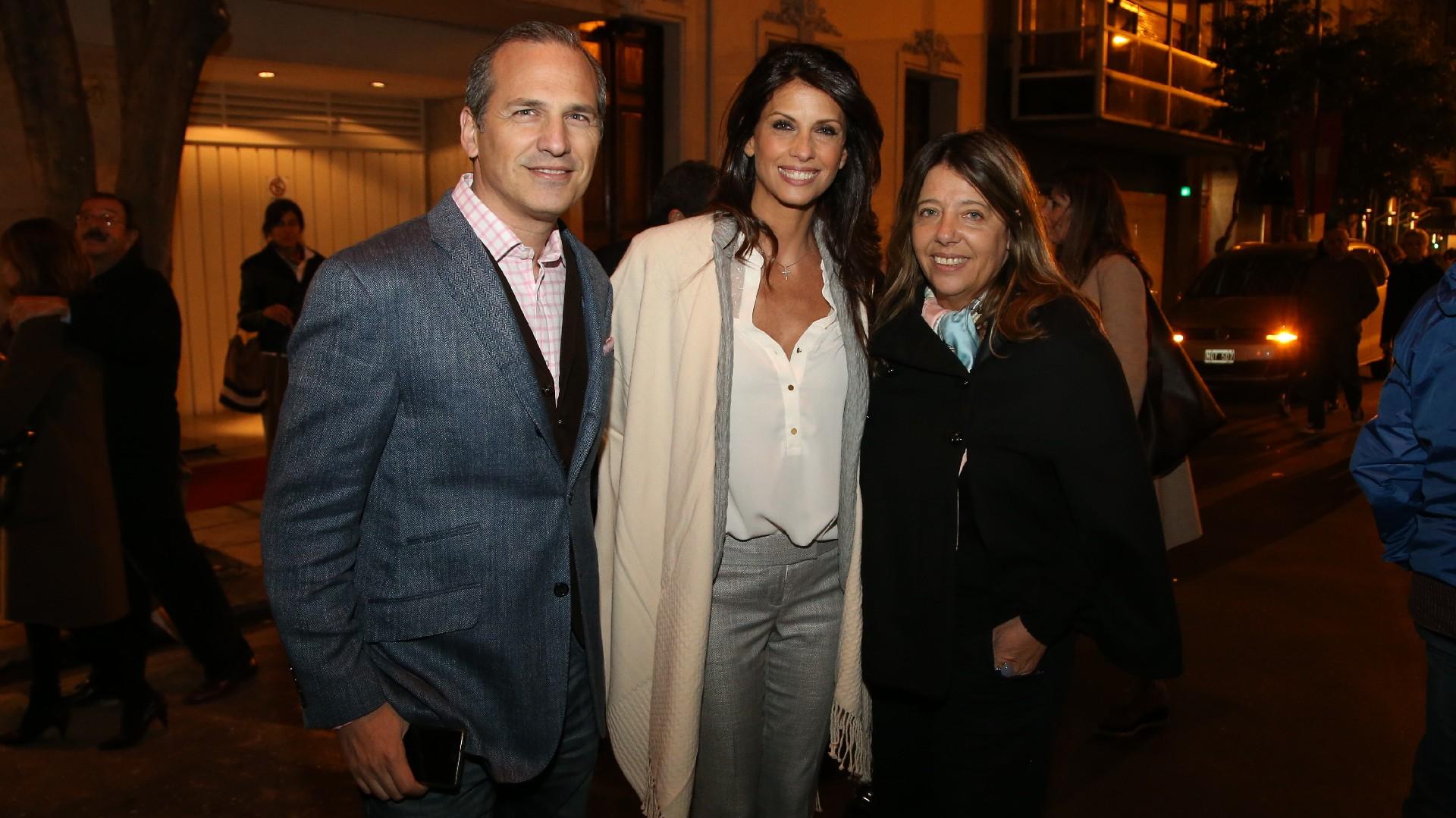 Javier Iturrioz, Analía Maiorana y María Claudia Pedrayes