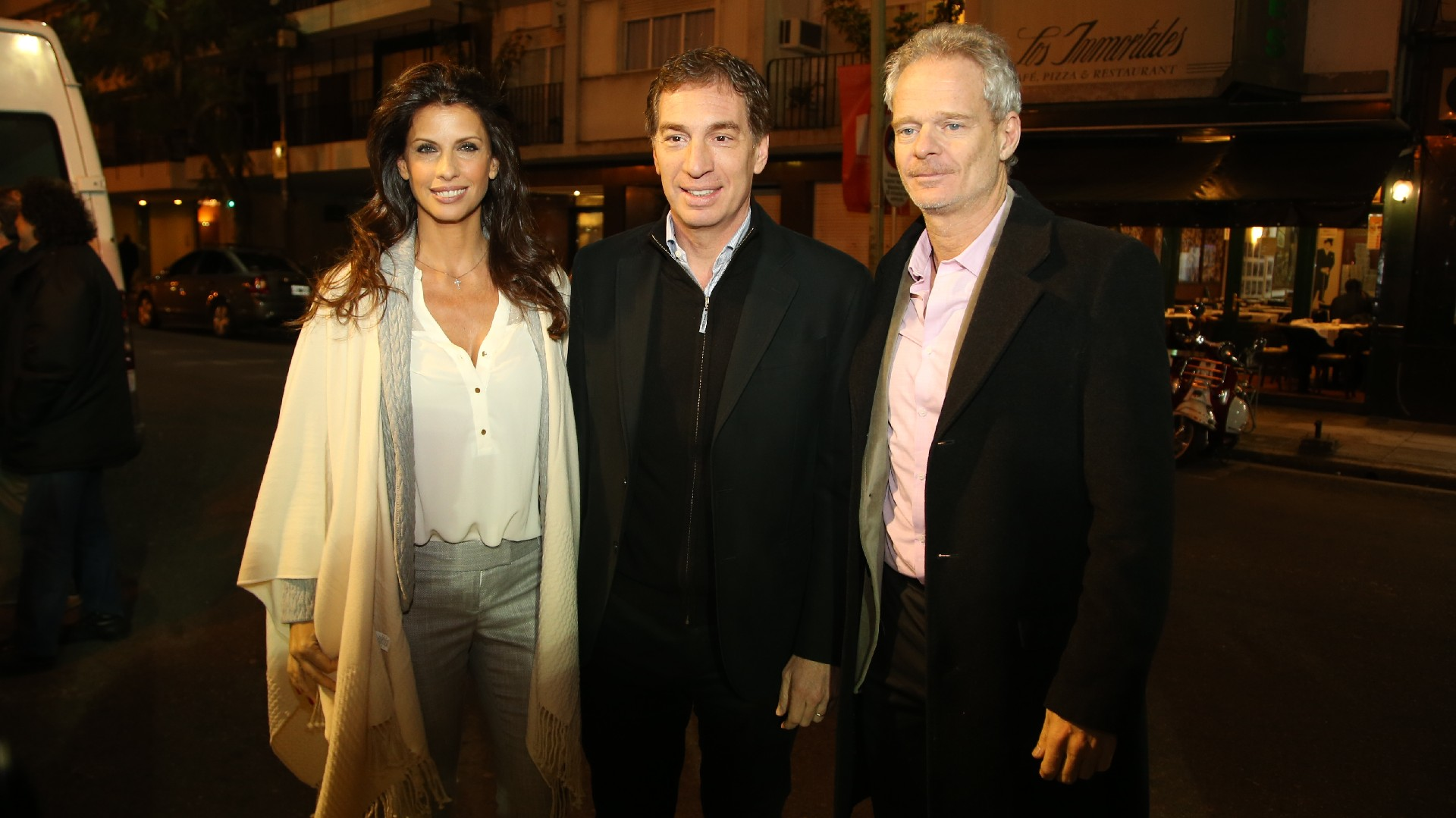 Analía Maiorana, Diego Santilli y Hernán Nisenbaum