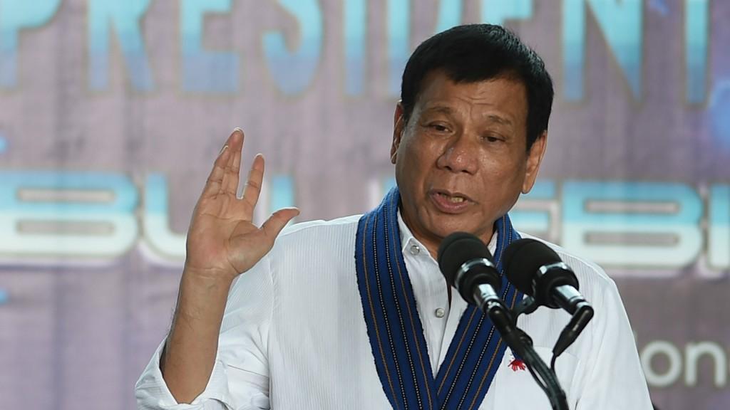 Rodrigo Duterte volvió a generar polémica (AFP)