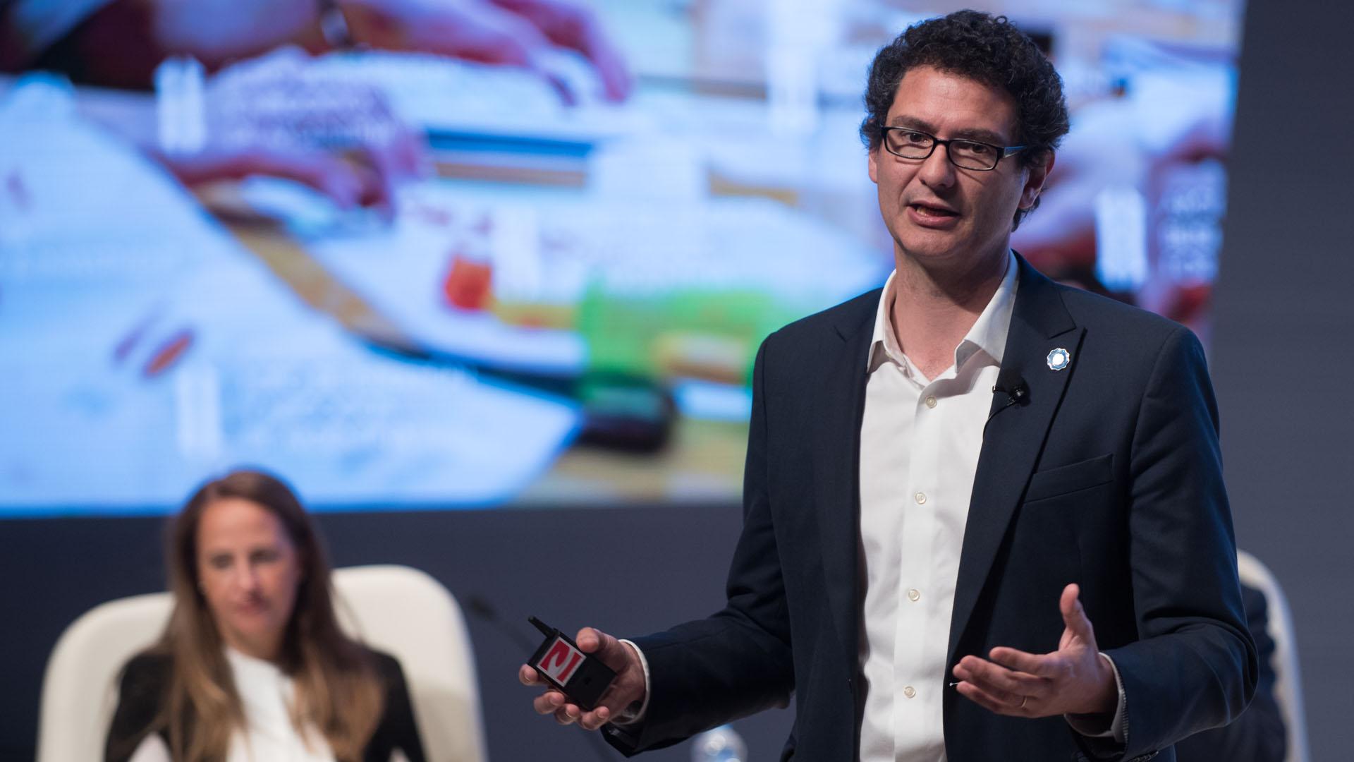 El Secretario de Emprendedores y Pymes de Nación, Mariano Mayer