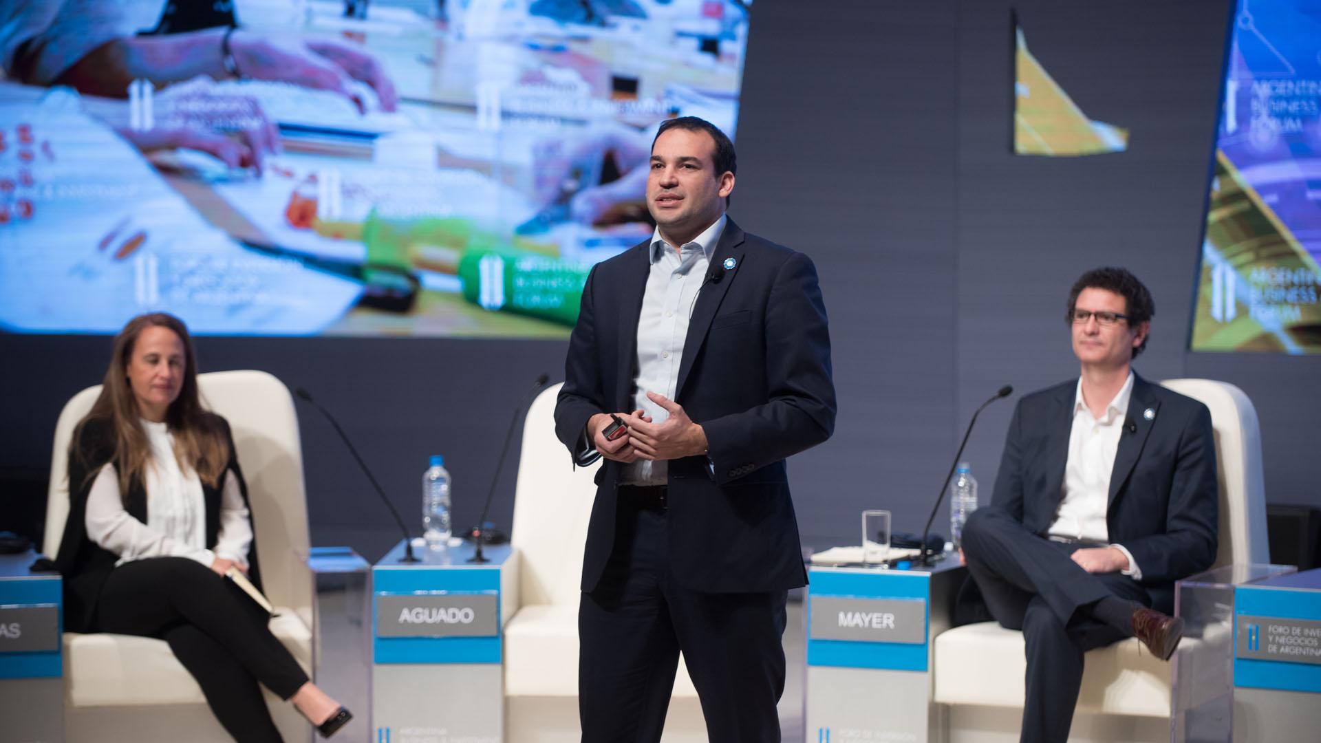 Jorge Aguado, Subsecretario de Políticas en Ciencia , Tecnología e Innovación Productiva