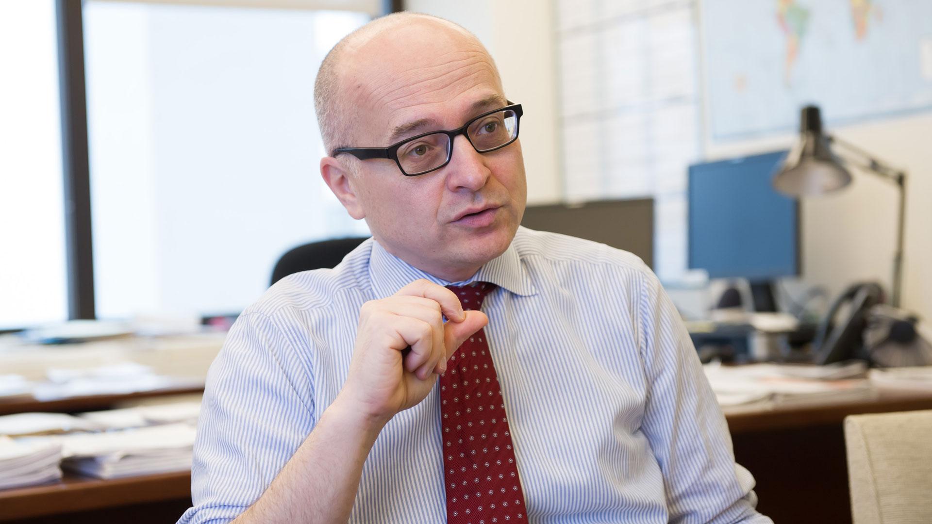 Roberto Cardarelli, un funcionario clave dentro del FMI.