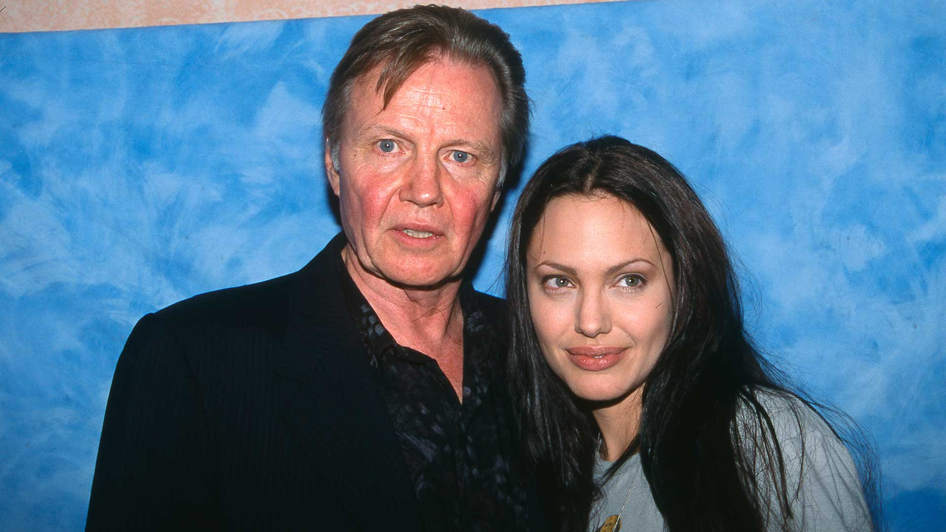 Jon Voight y su hija Angelina Jolie (Grosby Group)