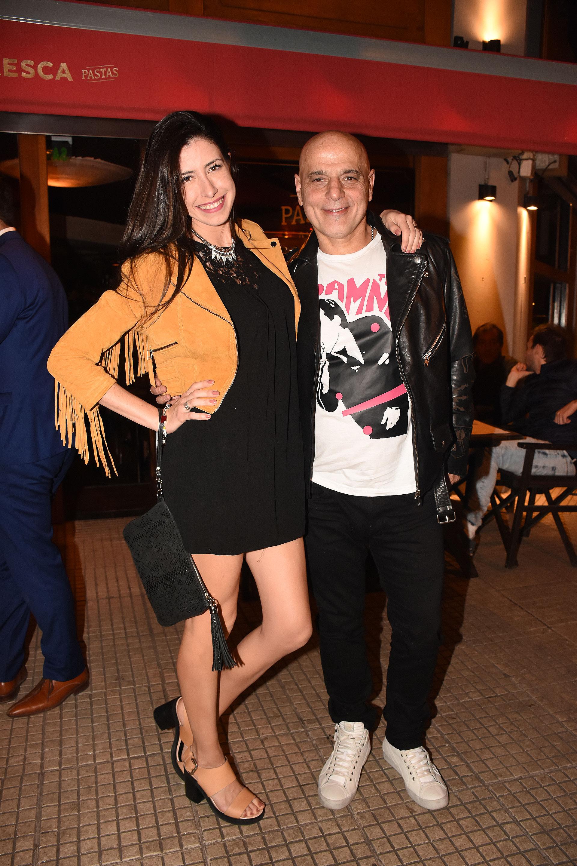 Zeta Bosio y su mujer Estefanía Iracet