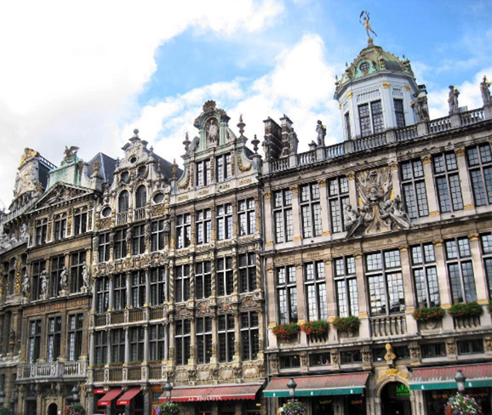Bruselas, Bélgica. Jeppesen registró cada uno de sus viajes en su blog y en su cuenta de Instagram