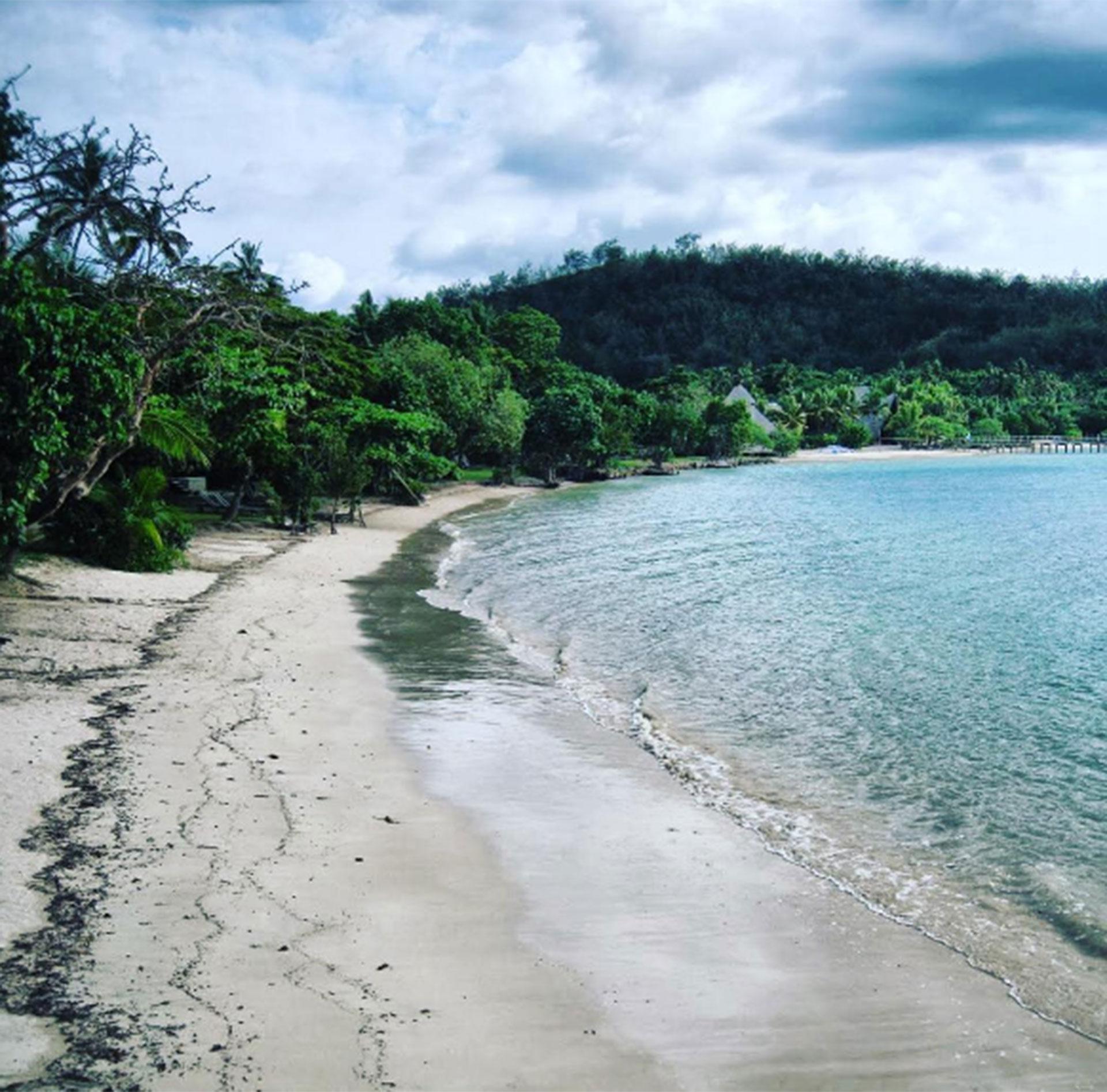 Fiji, un paraíso para Jeppesen y para quien quiera conocerlo
