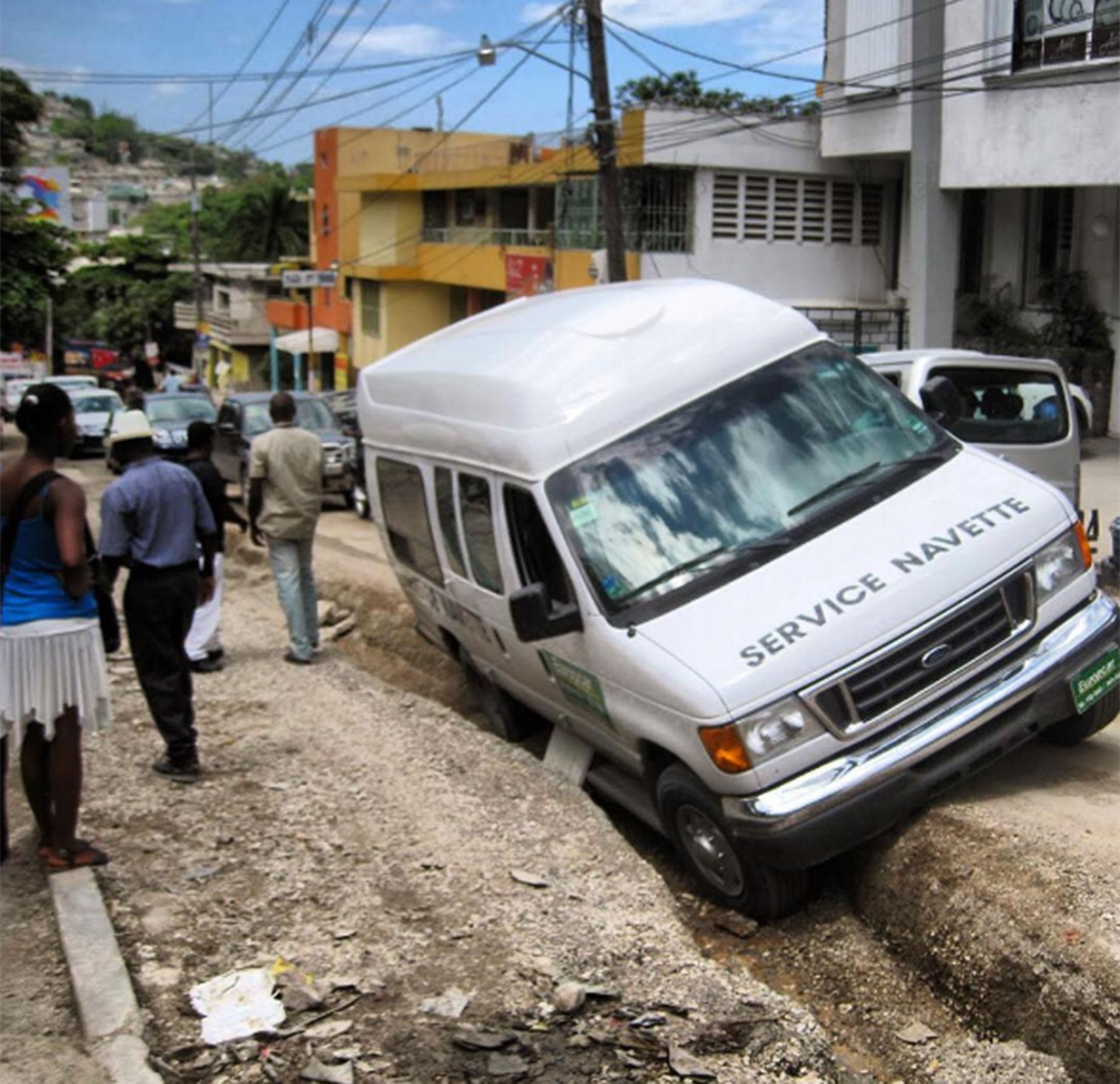 Haití y su pobreza conmovierona Jeppesen