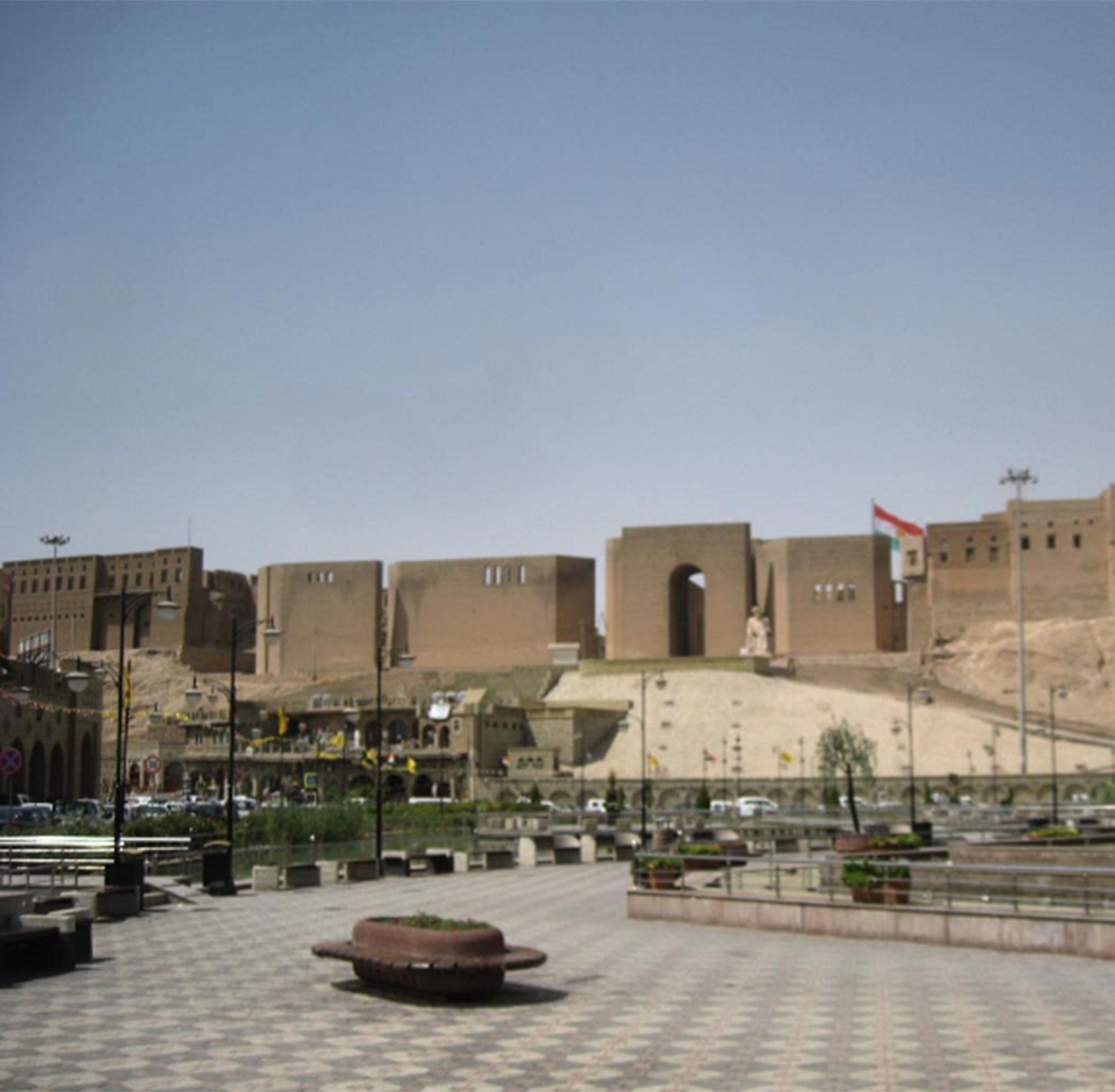 Irak fue otro de los puntos que tocó Jeppesen. El peligro no lo frenó para visitar el país en crisis