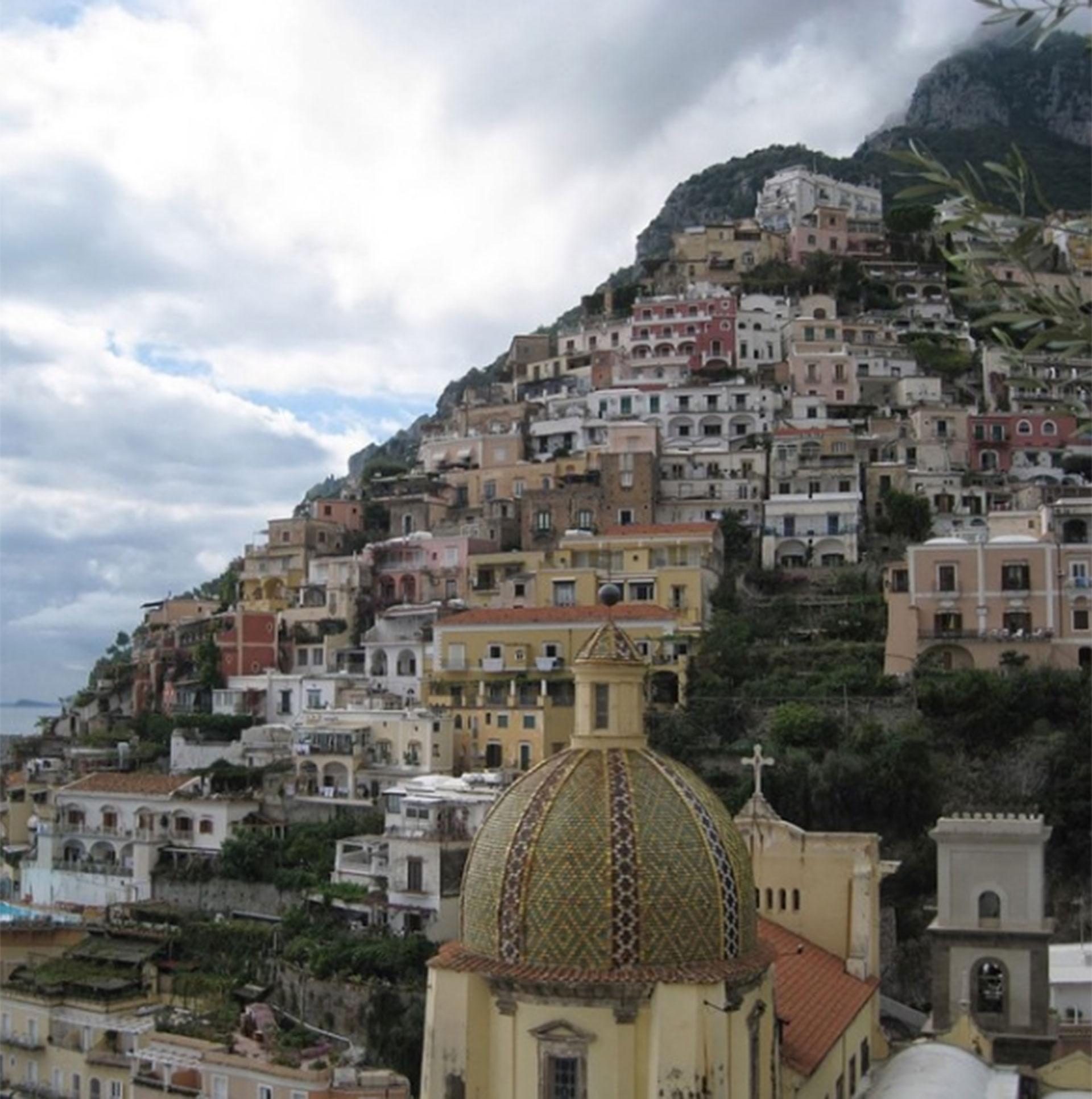 Positano, Italia. Uno de los lugares que más encantaron a Jeppesen