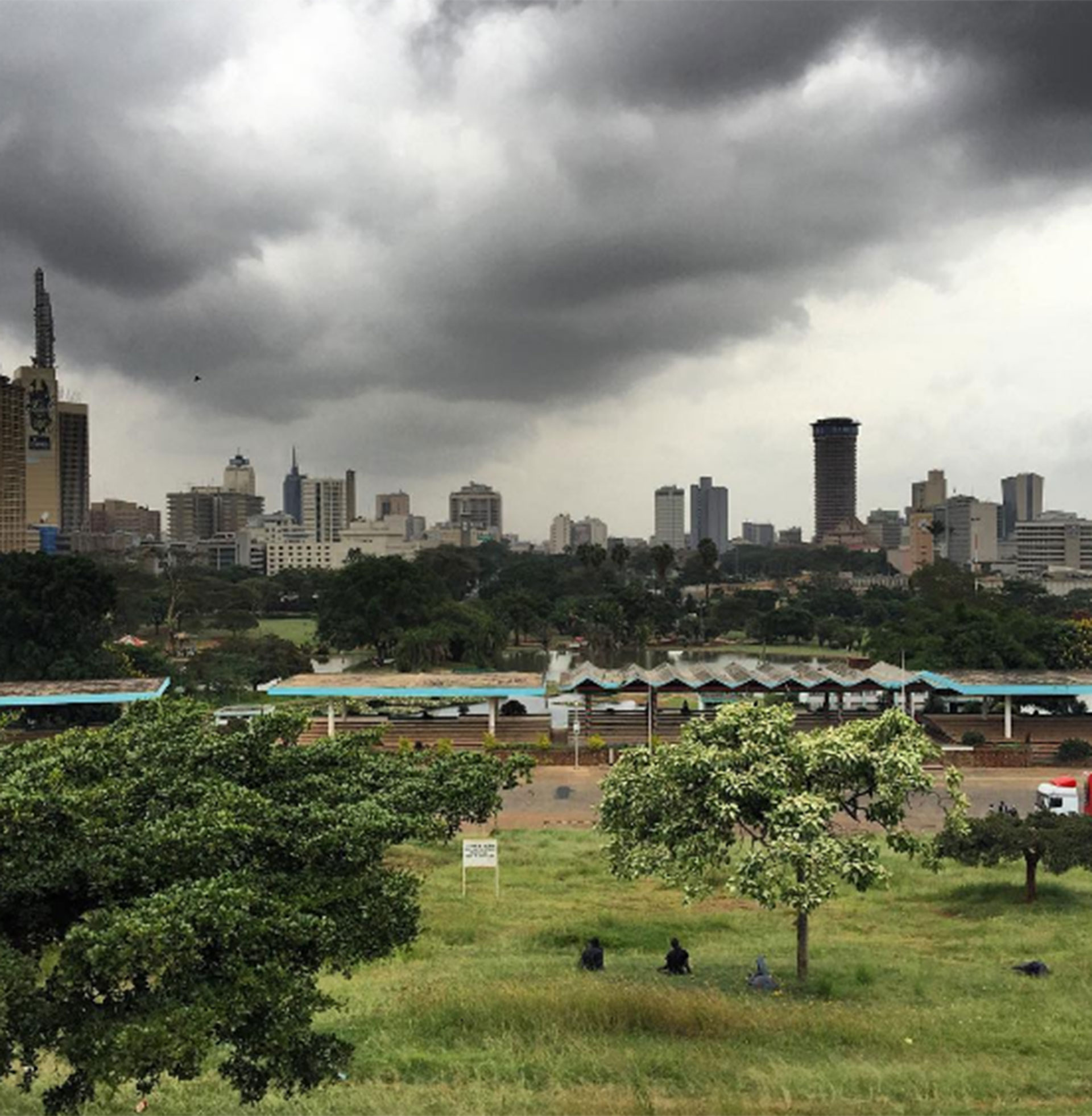 Jeppesen en Kenia. Cree que lo mejor para viajar a lugares de riesgo es con empresas turísticas confiables