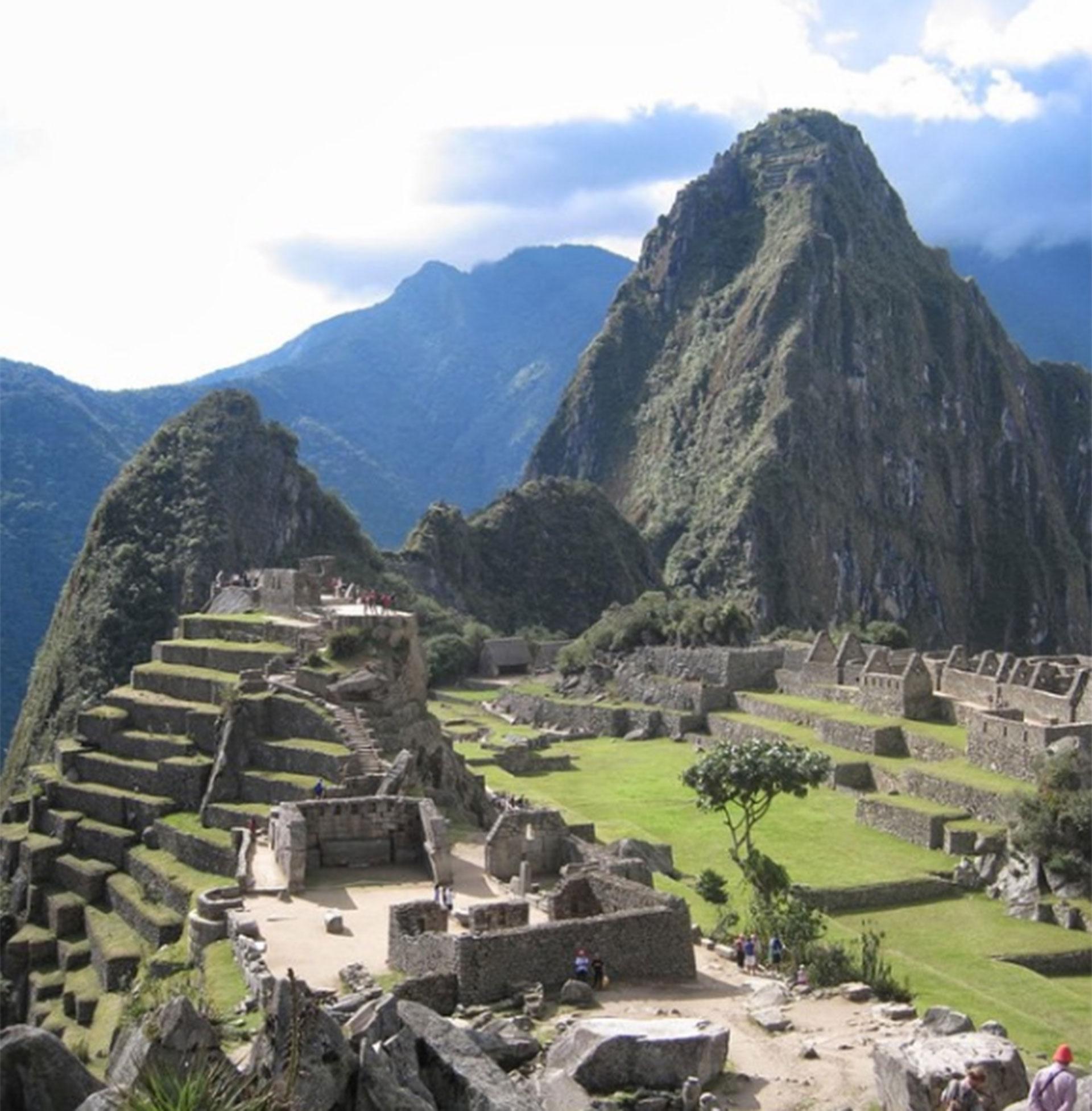 Machu Pichu, Perú. Quedó asombrado por la cultura del país latinoamericano