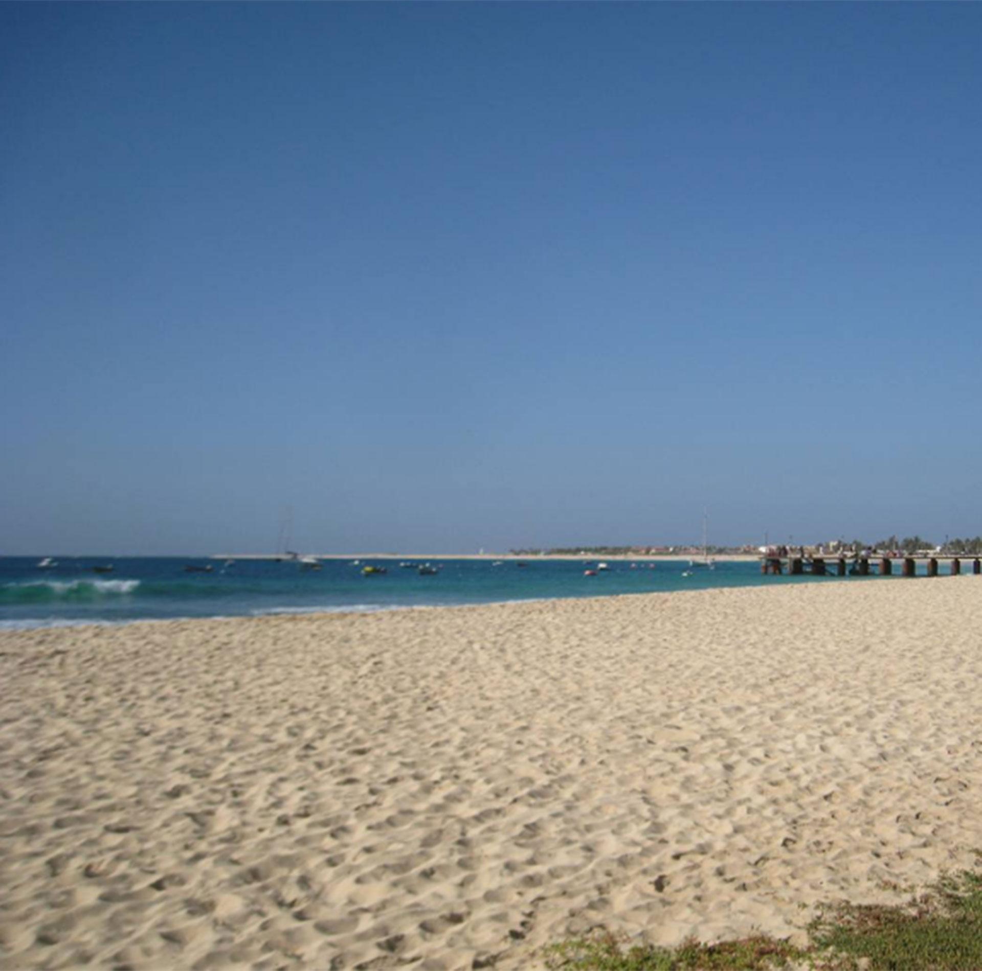 Una playa en Sal Island, Cabo Verde