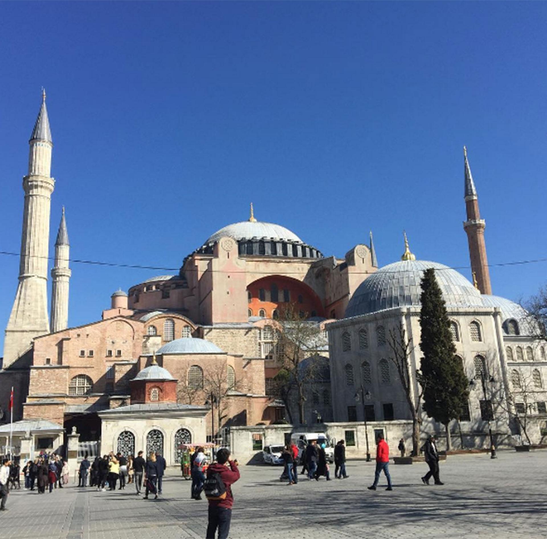 Estambul, Turquía. Cuando comenzó el viaje, Medio Oriente no era un lugar tan peligroso como ahora