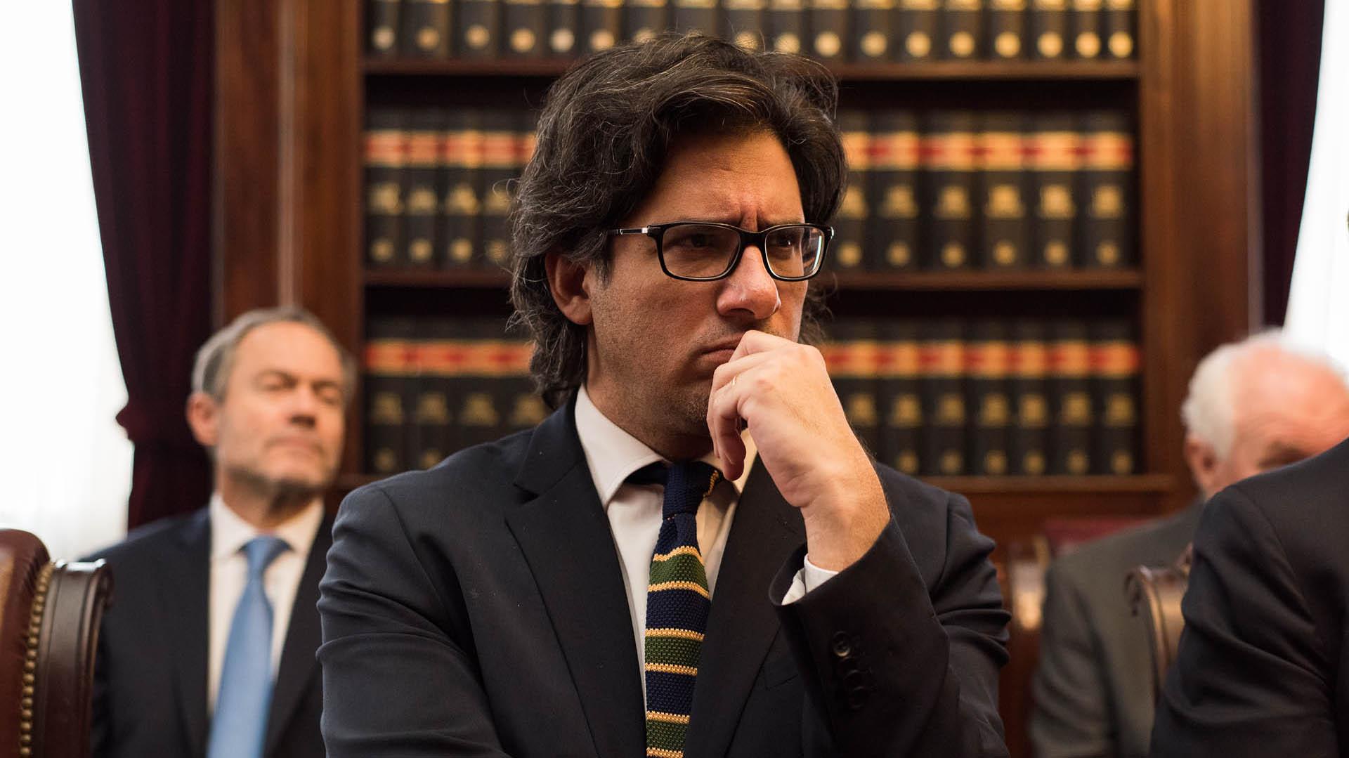 Germán Garavano, ministro de Justicia (Foto: Adrián Escandar)