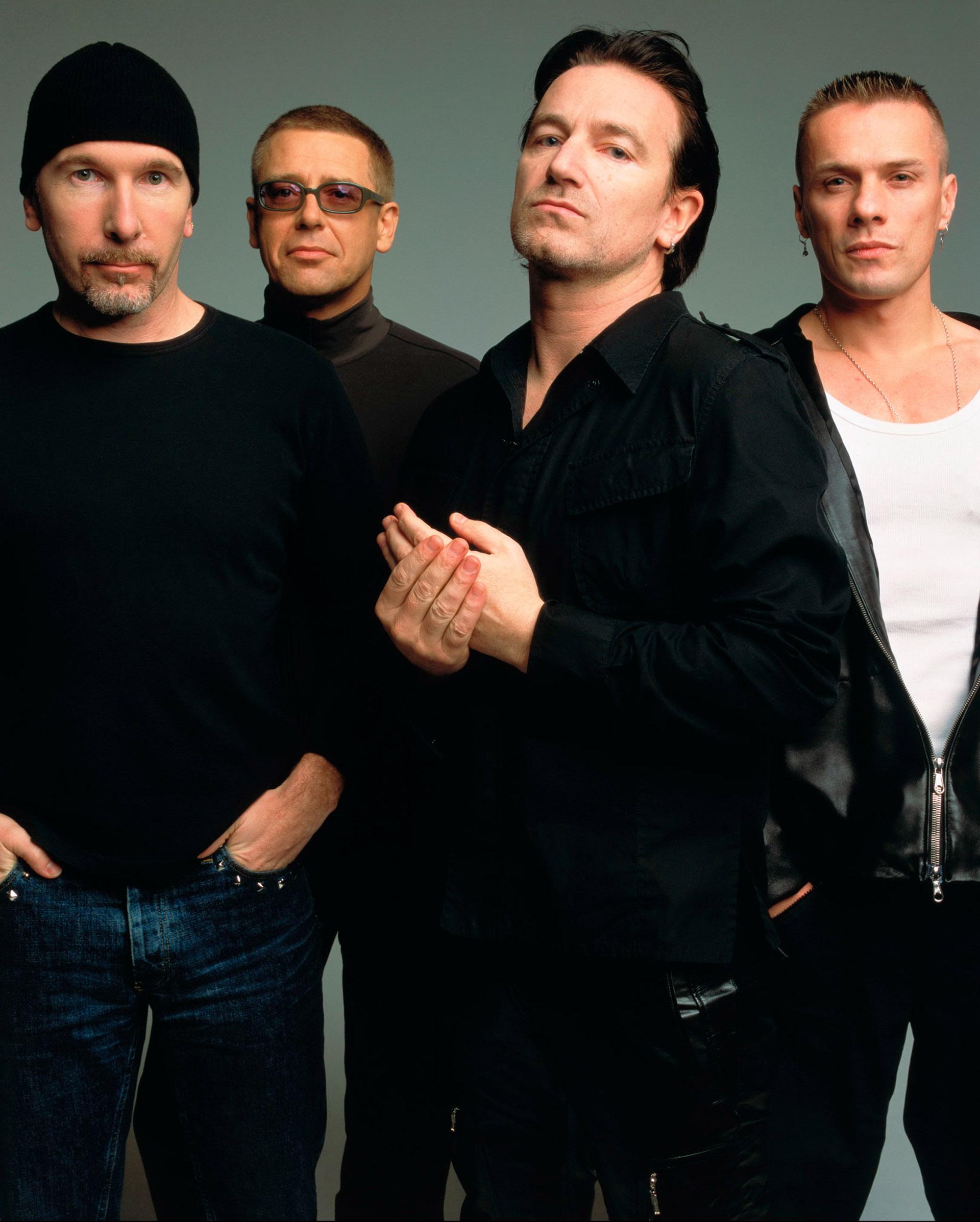 U2 a principios de los 90