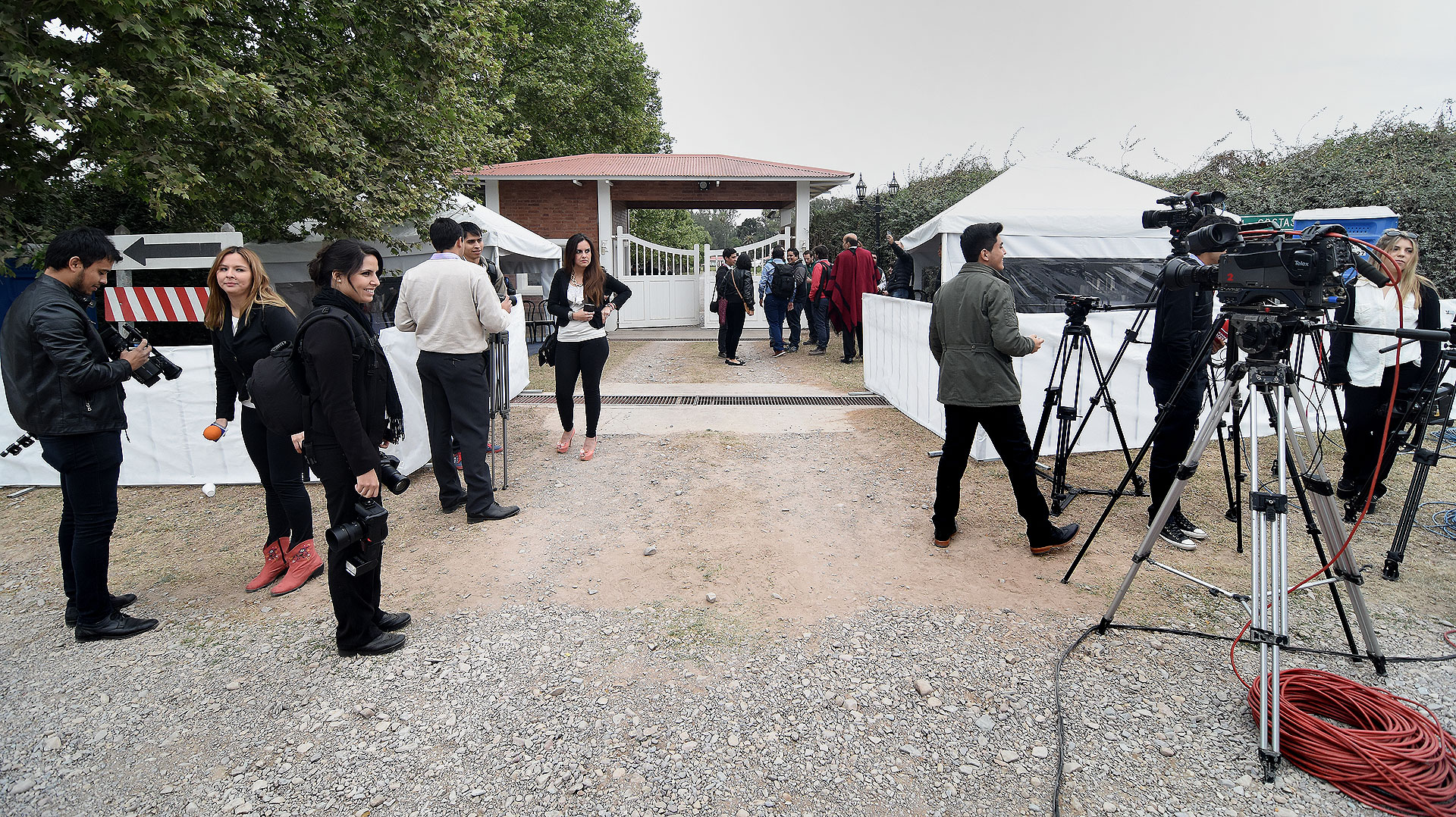 El festejo se realizó en la Finca Las Costas, residencia del gobernador de Salta.