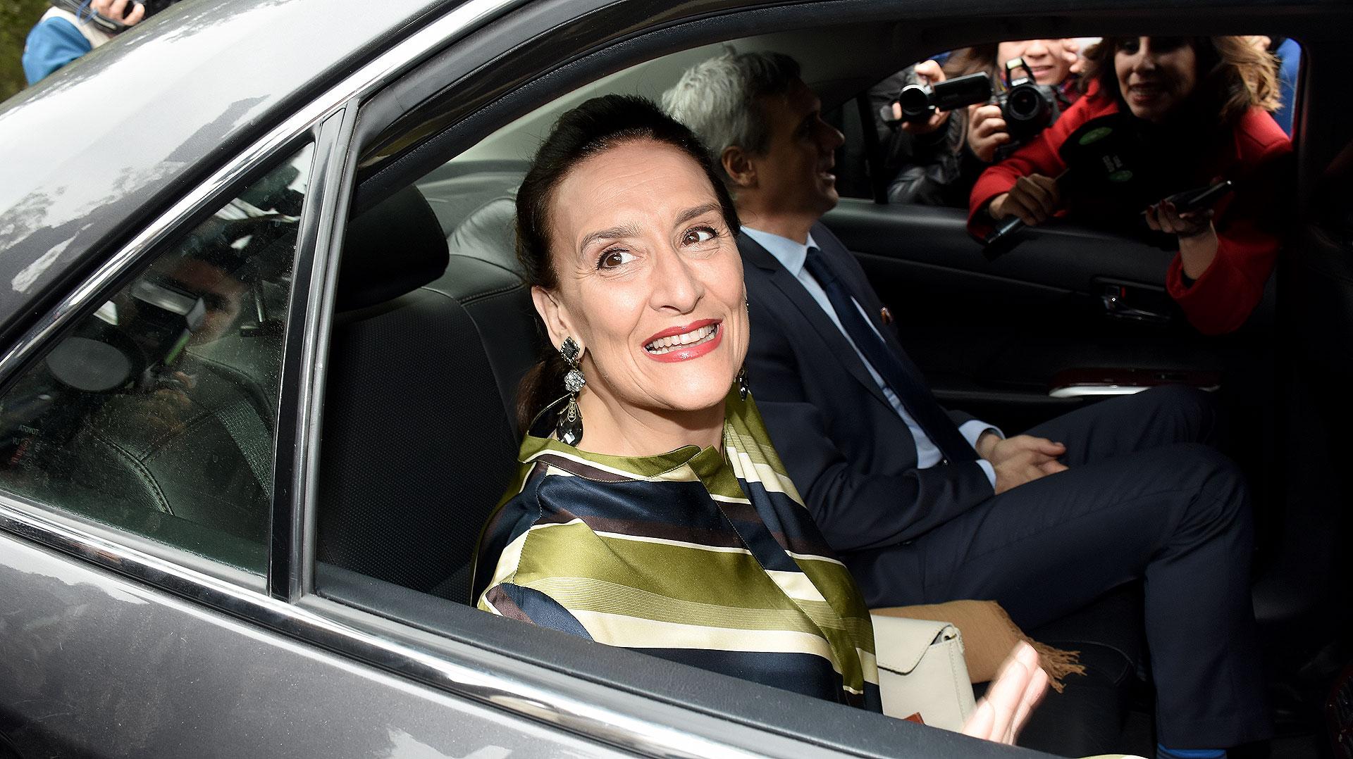 La vicepresidenta Gabriela Michetti y su novio, Juan Tonelli.