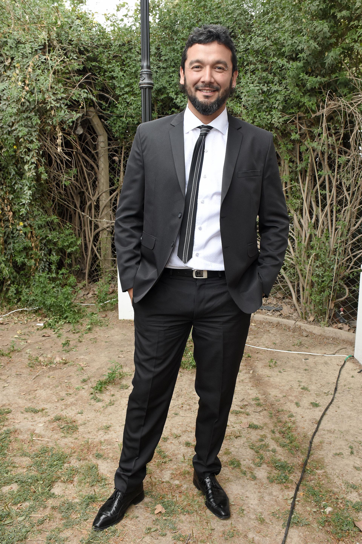 Entre los invitados masculinos primó el traje negro con corbatín