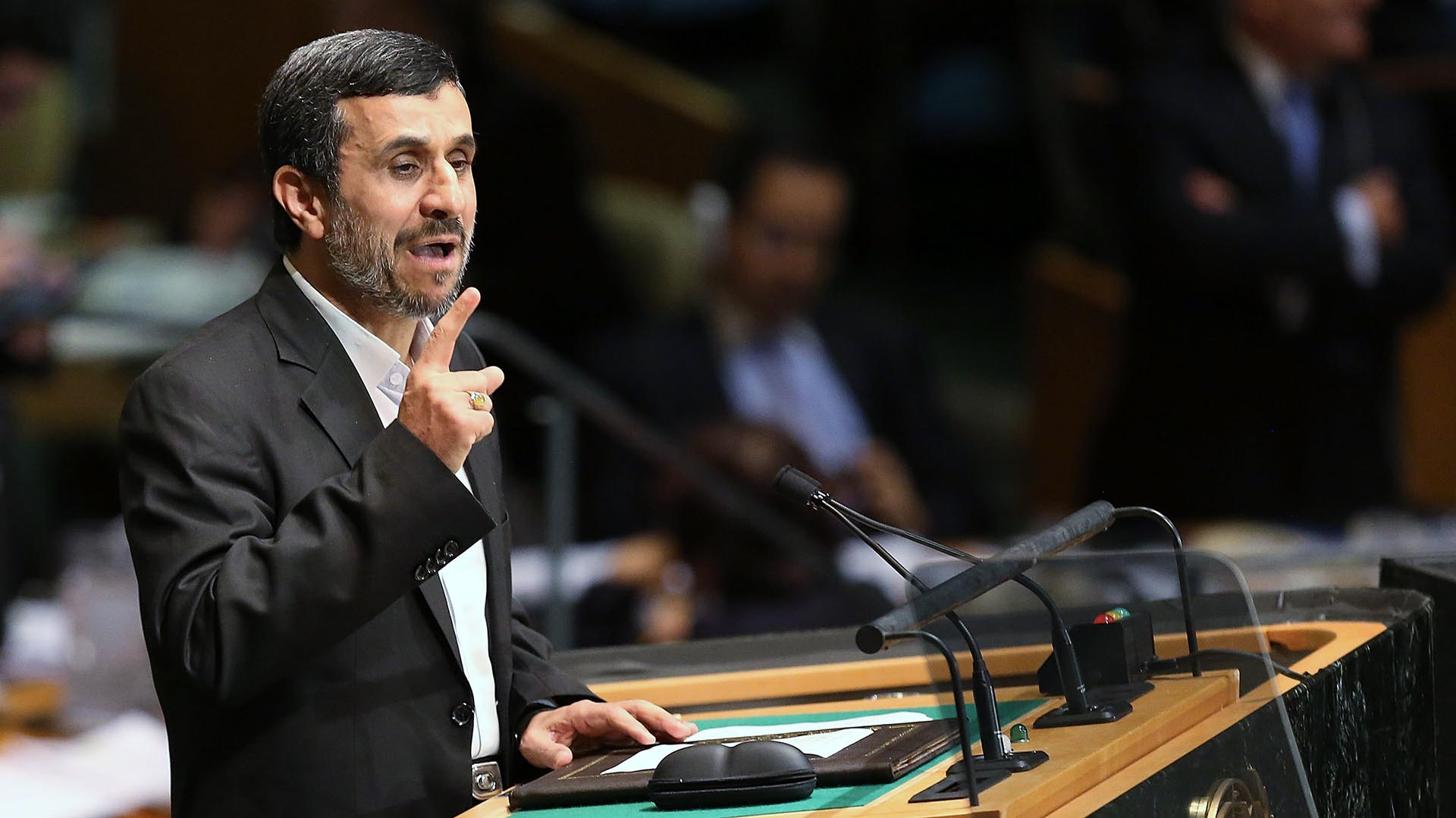 Mahmud Ahmadinejad (Getty)