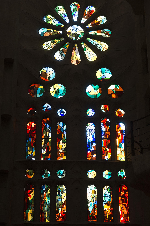 La cristalería fue construida por el vidriero español Joan Vila-Grau