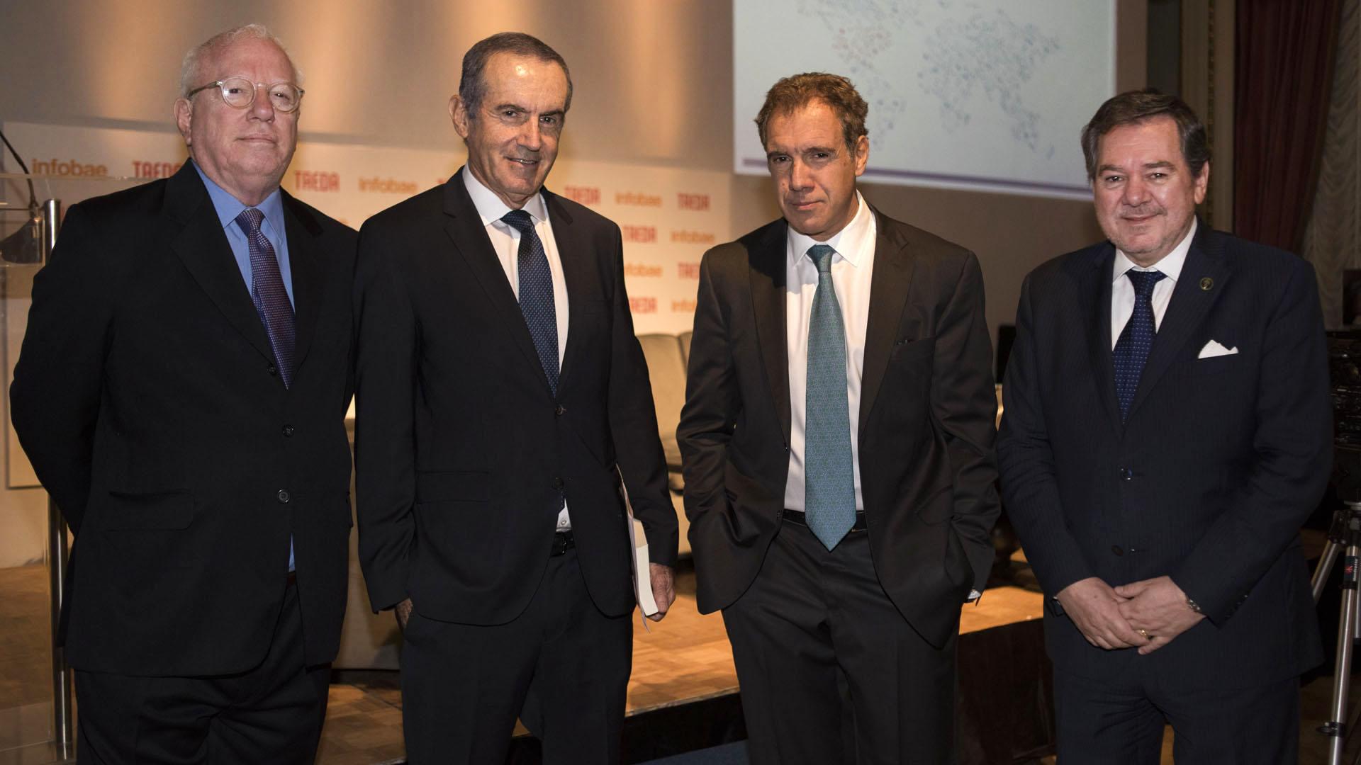 Gabriel Guerra Mondragón, Andrés Oppenheimer, Daniel Hadad y Mario Montoto